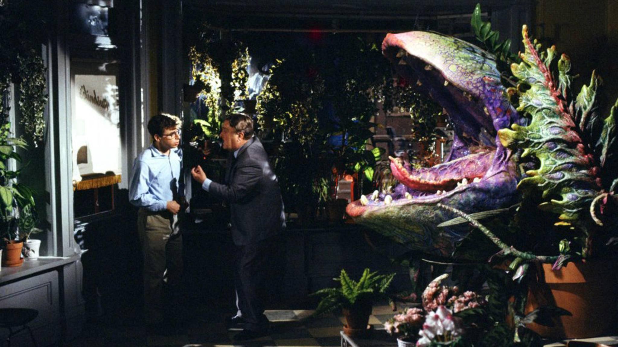Nervt der Arbeitgeber? Seymour verfüttert ihn kurzerhand an seine gierige fleischfressende Pflanze.