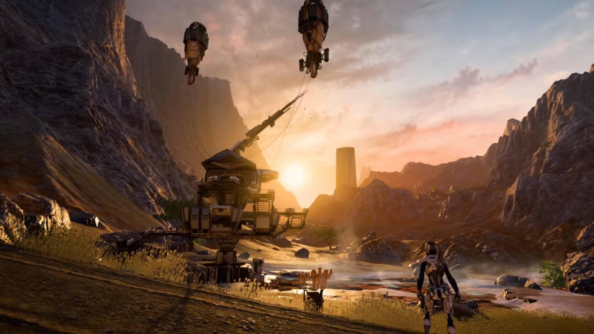 """Grafisch verspricht """"Mass Effect Andromeda"""" wieder Einiges."""