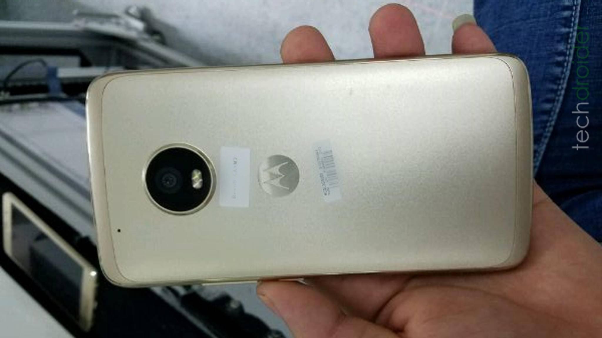 Das Motorola Moto X (2017) soll ein Gehäuse komplett aus Metall bekommen.