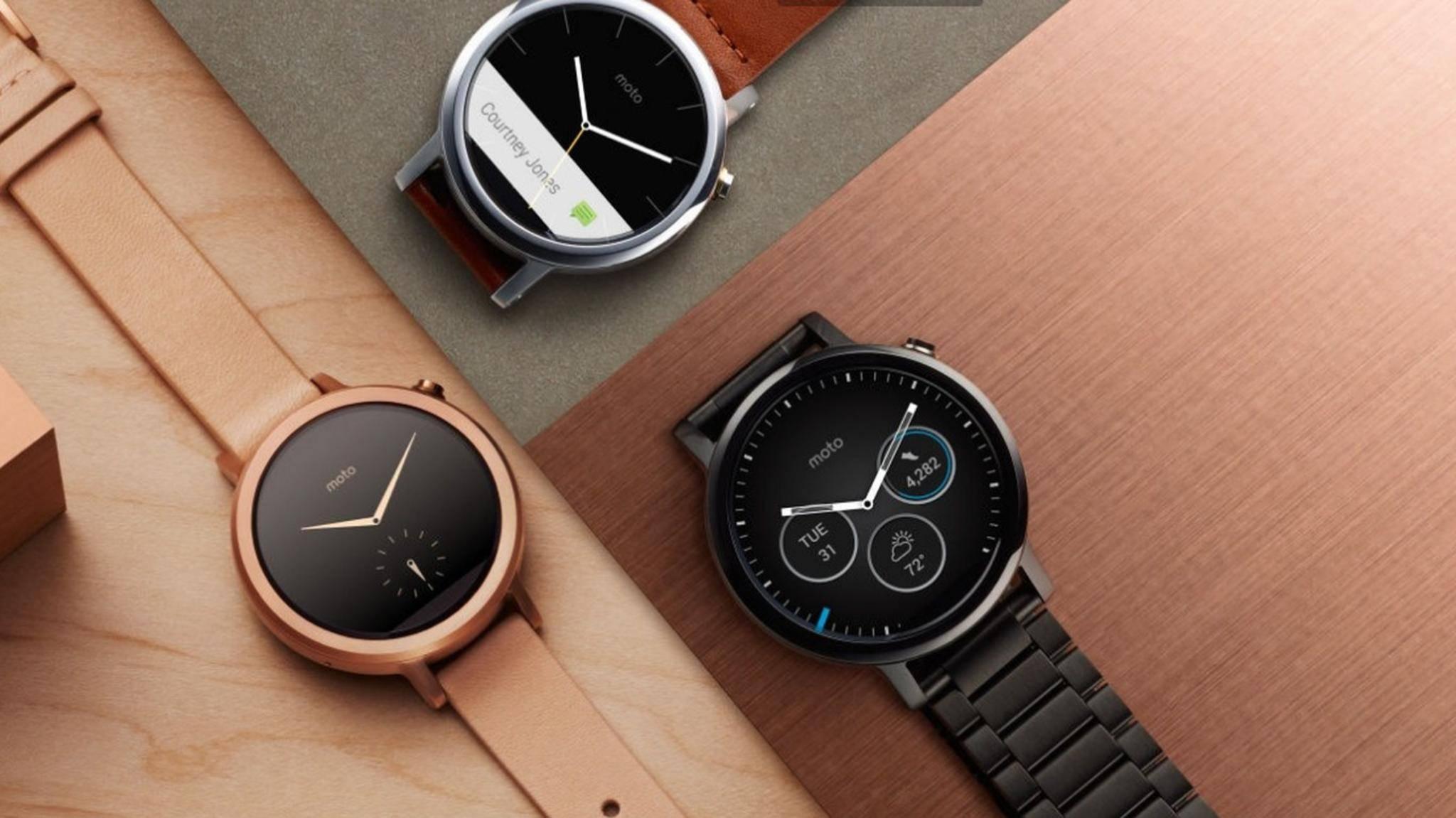Google arbeitet auf Hochtouren an Android Wear 2.0.