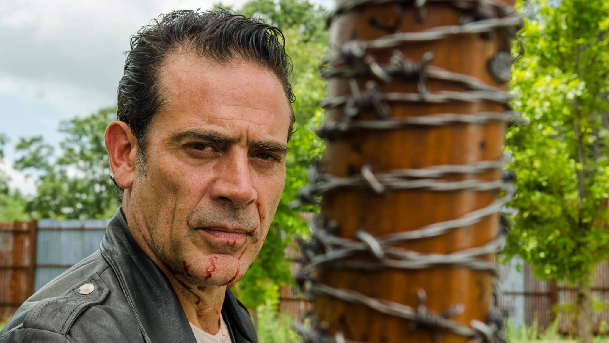 """Negan ist auch in Staffel 8 von """"The Walking Dead"""" dabei."""
