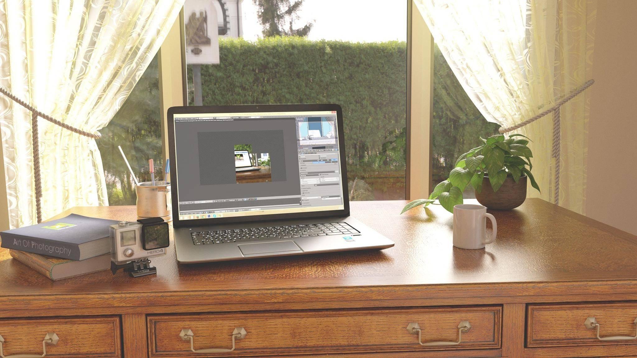 Einmal kurz nicht hingesehen, macht der Laptop einen Neustart.