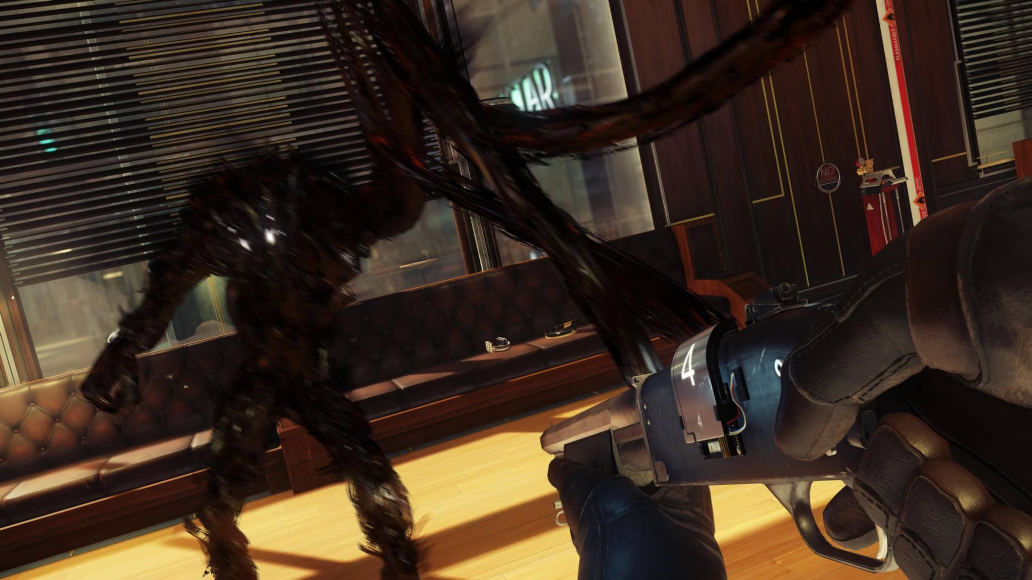 """In """"Prey"""" bekommst Du es auf einer Raumstation mit Aliens zu tun."""