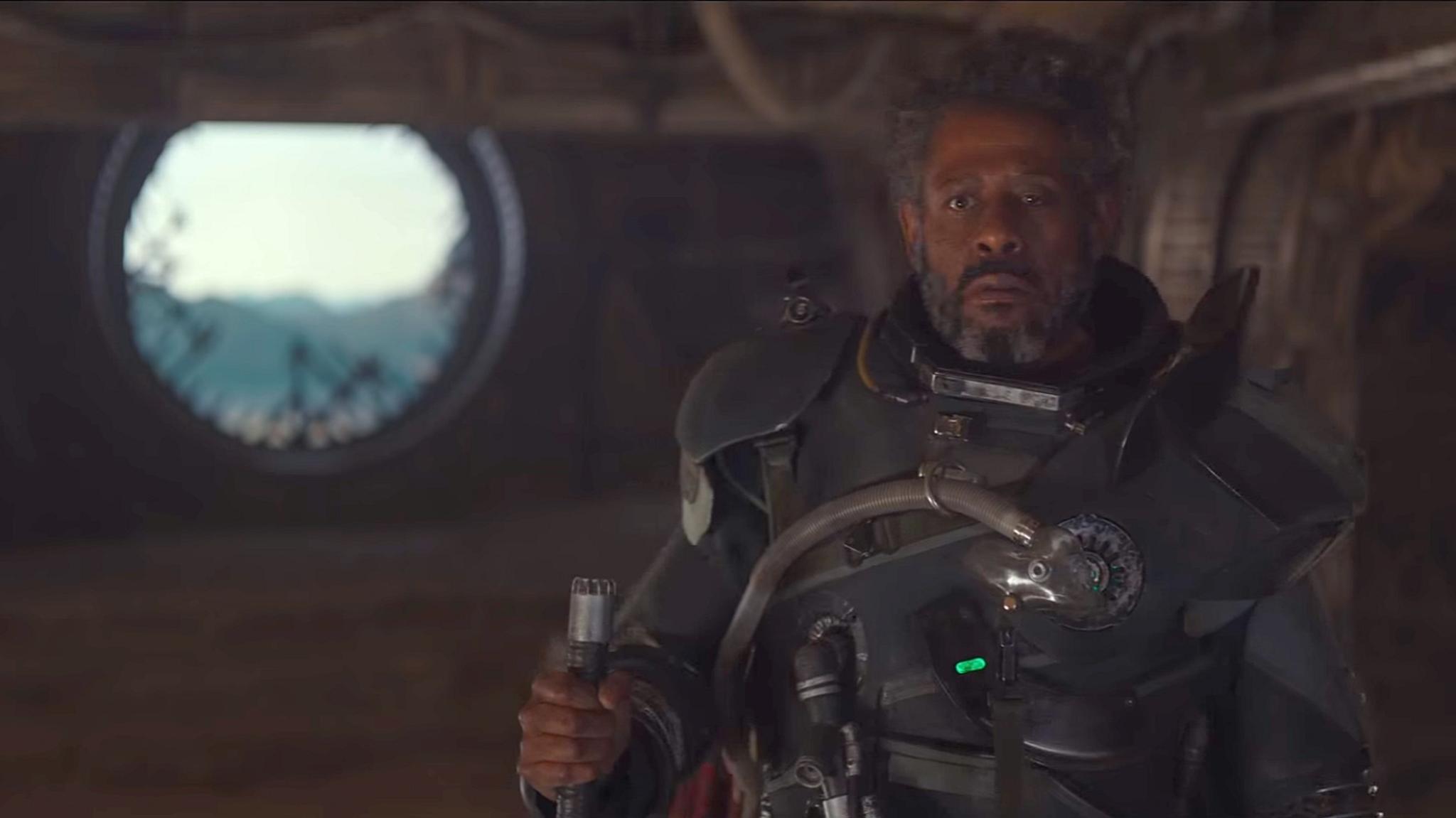 """Ein Rebell voller Geheimnisse: Forest Whitaker als Saw Gerrera in """"Rogue One""""."""