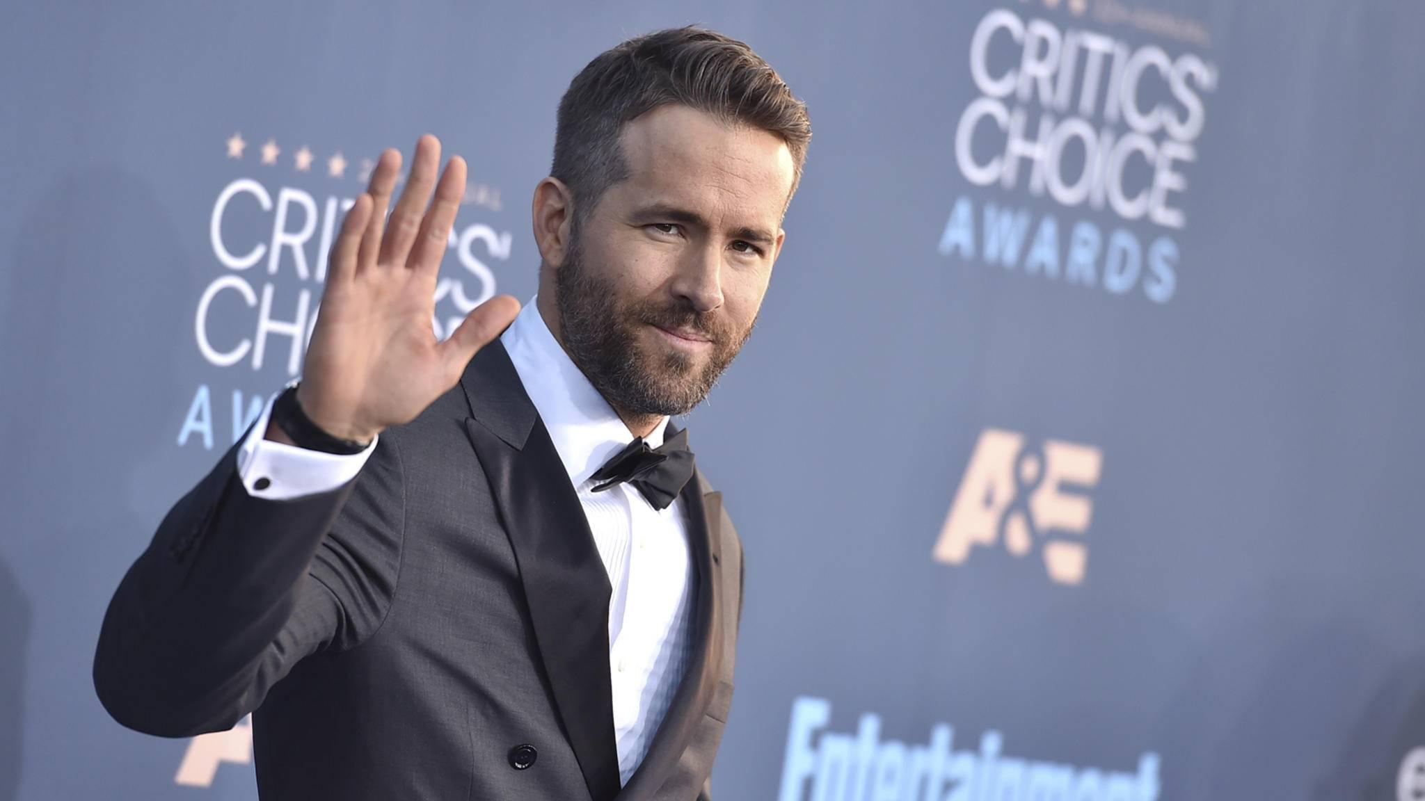 Ryan Reynolds wurde unter anderem zum Entertainer des Jahres gewählt.