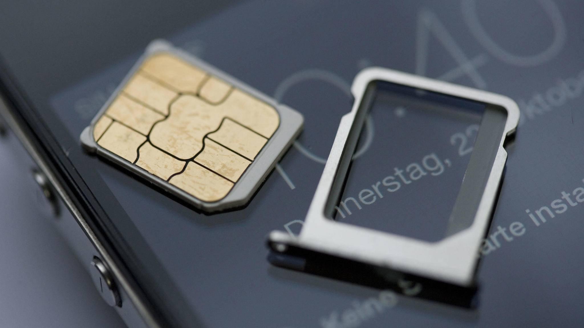 Richtige Größe, unterschiedliche Öffnungen: Beim Wechsel einer SIM-Karte muss einiges beachtet werden.