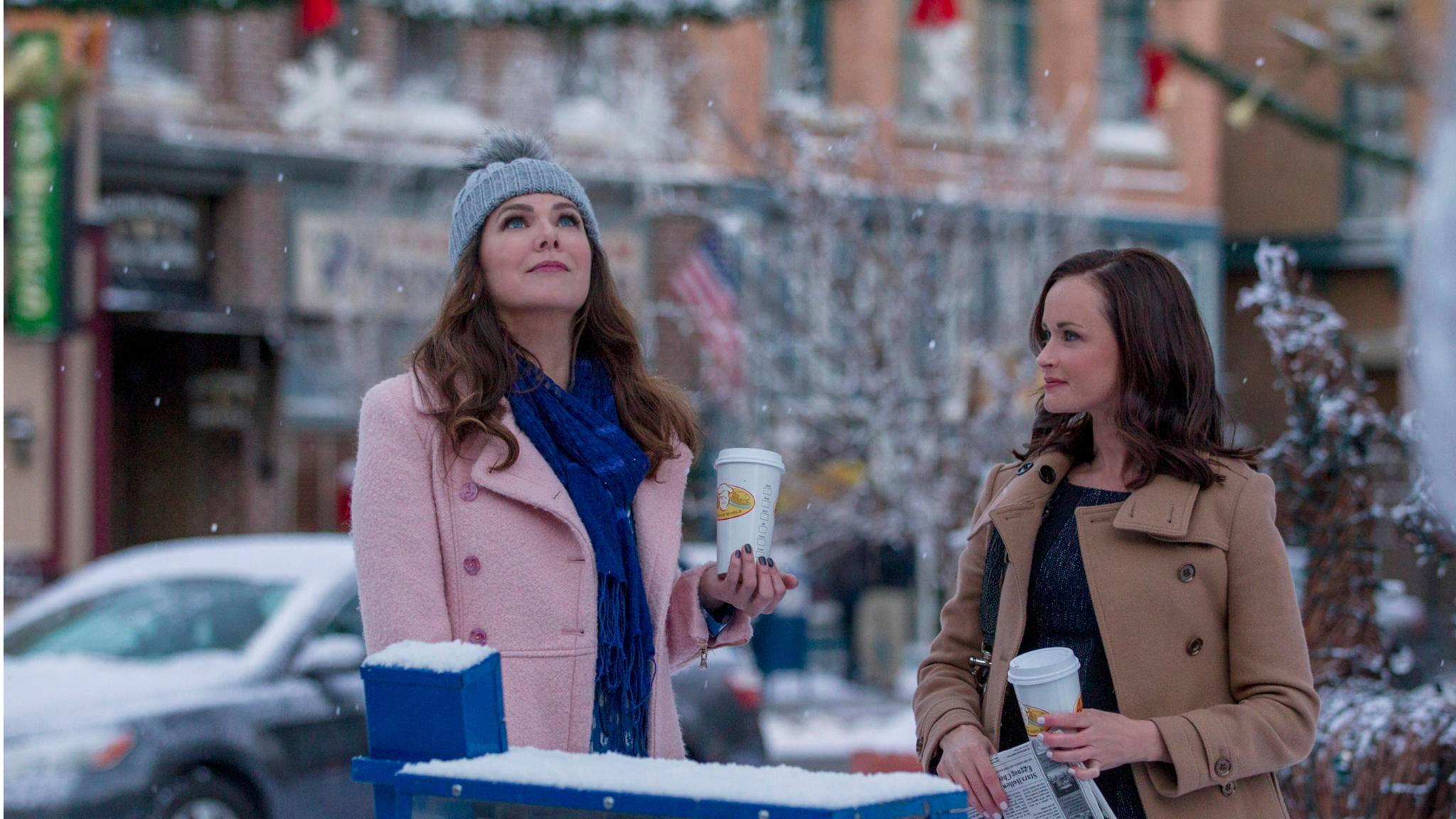 """Schöne Serien wie """"Gilmore Girls"""" sorgen für gute Laune beim Zuschauer."""