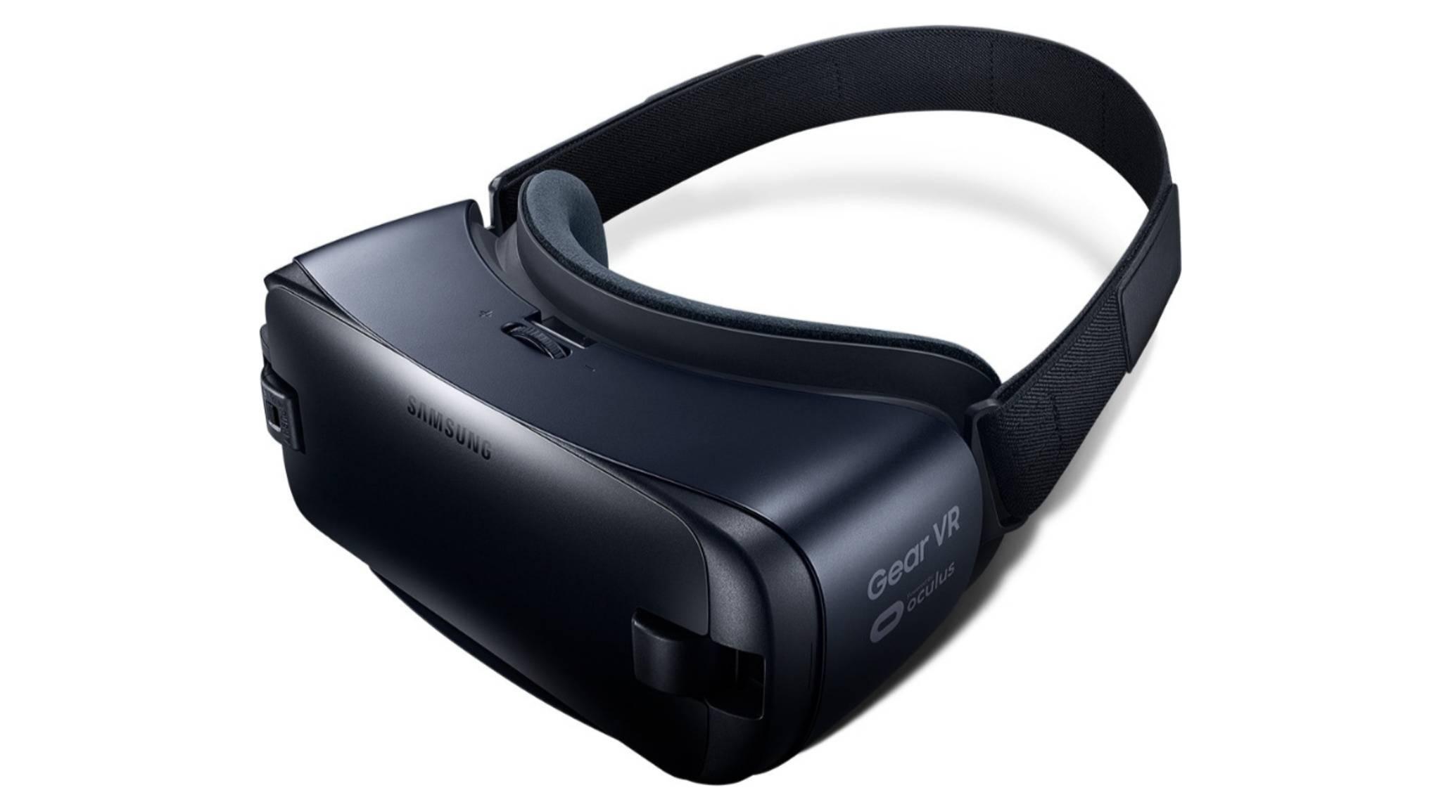 Samsungs aktuelle Virtual-Reality-Brille Gear VR benötigt ein Smartphone.