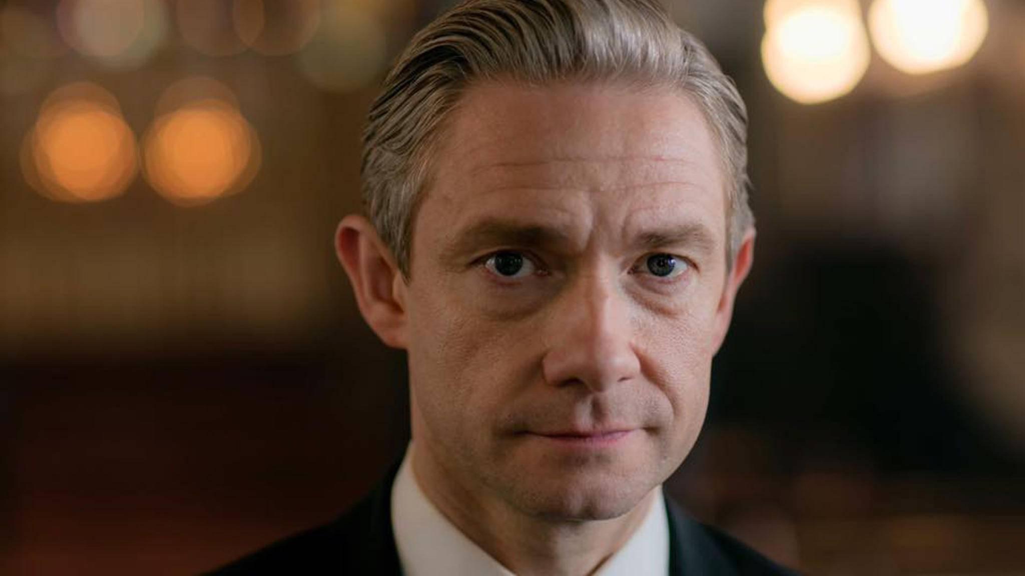 """""""Sherlock"""": Martin Freeman erklärt im Interview den Einfluss des Babys."""