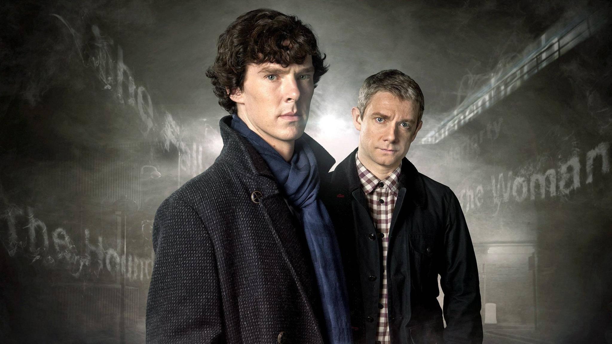 """""""Sherlock"""" machte Benedict Cumberbatch und Martin Freeman berühmt."""