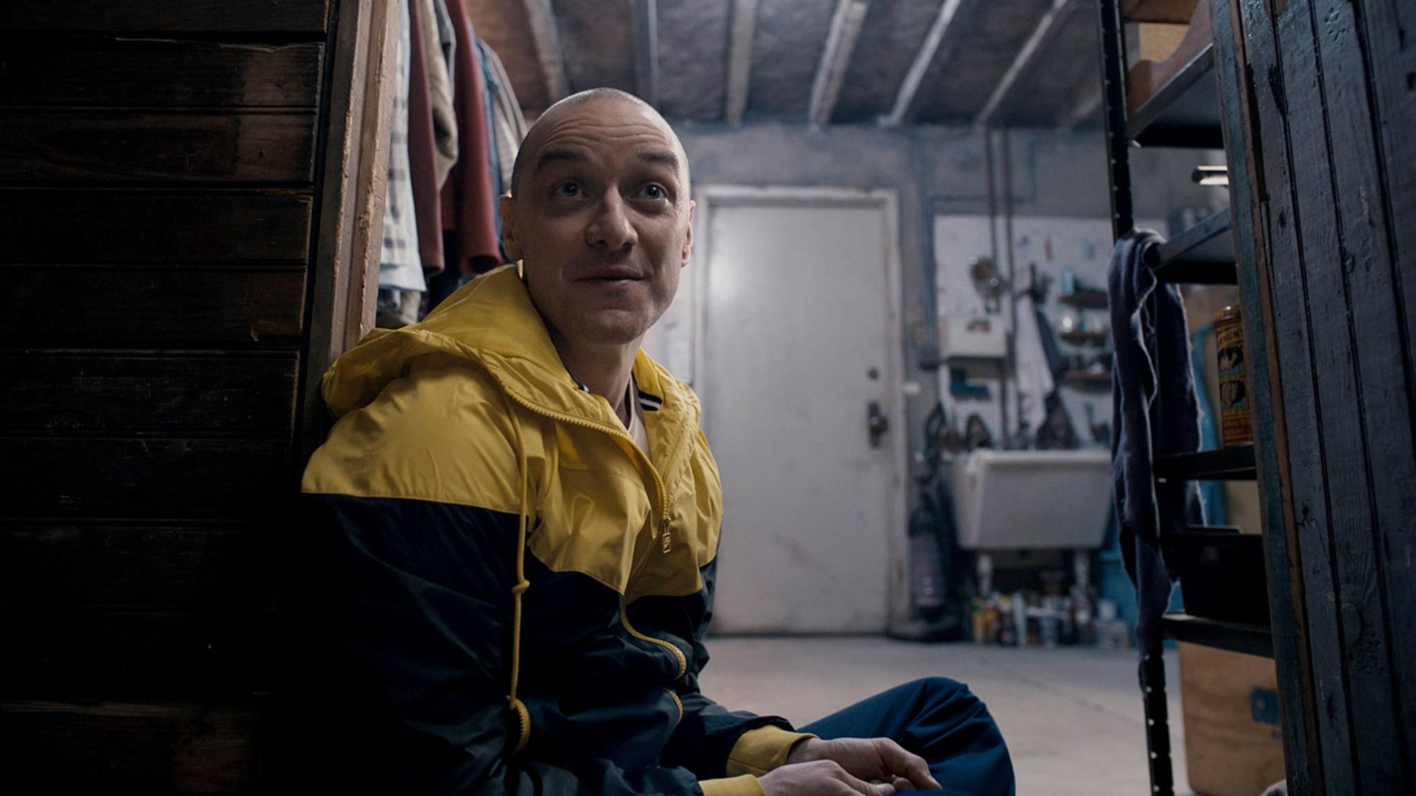 """James McAvoy spielt in """"Glass"""" an der Seite von Bruce Willis und Samuel L. Jackson."""