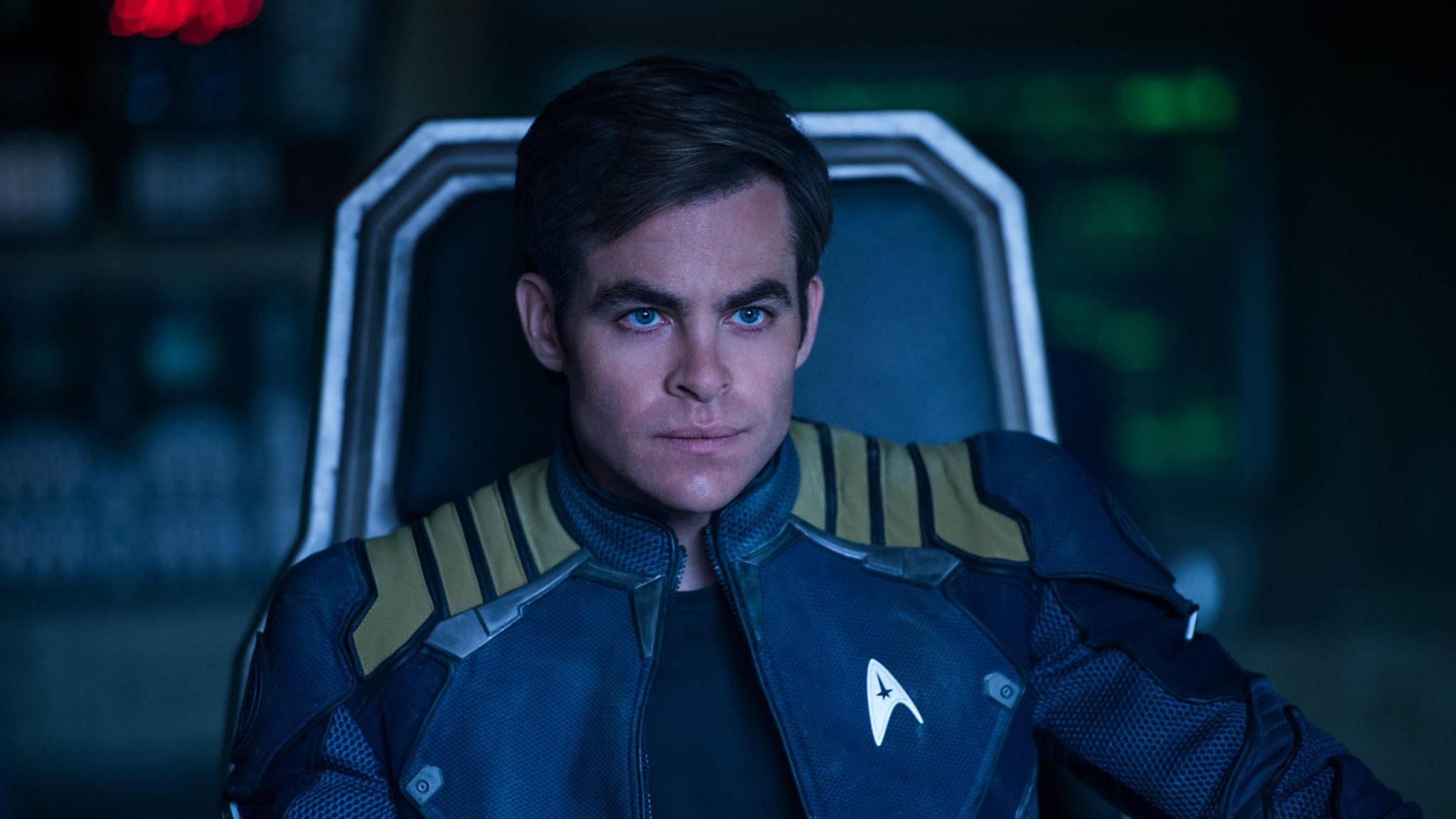 Frauenheld oder doch pragmatischer Raumschiff-Captain? Chris Pine spielt eine neue Interpretation von Captain James T. Kirk.
