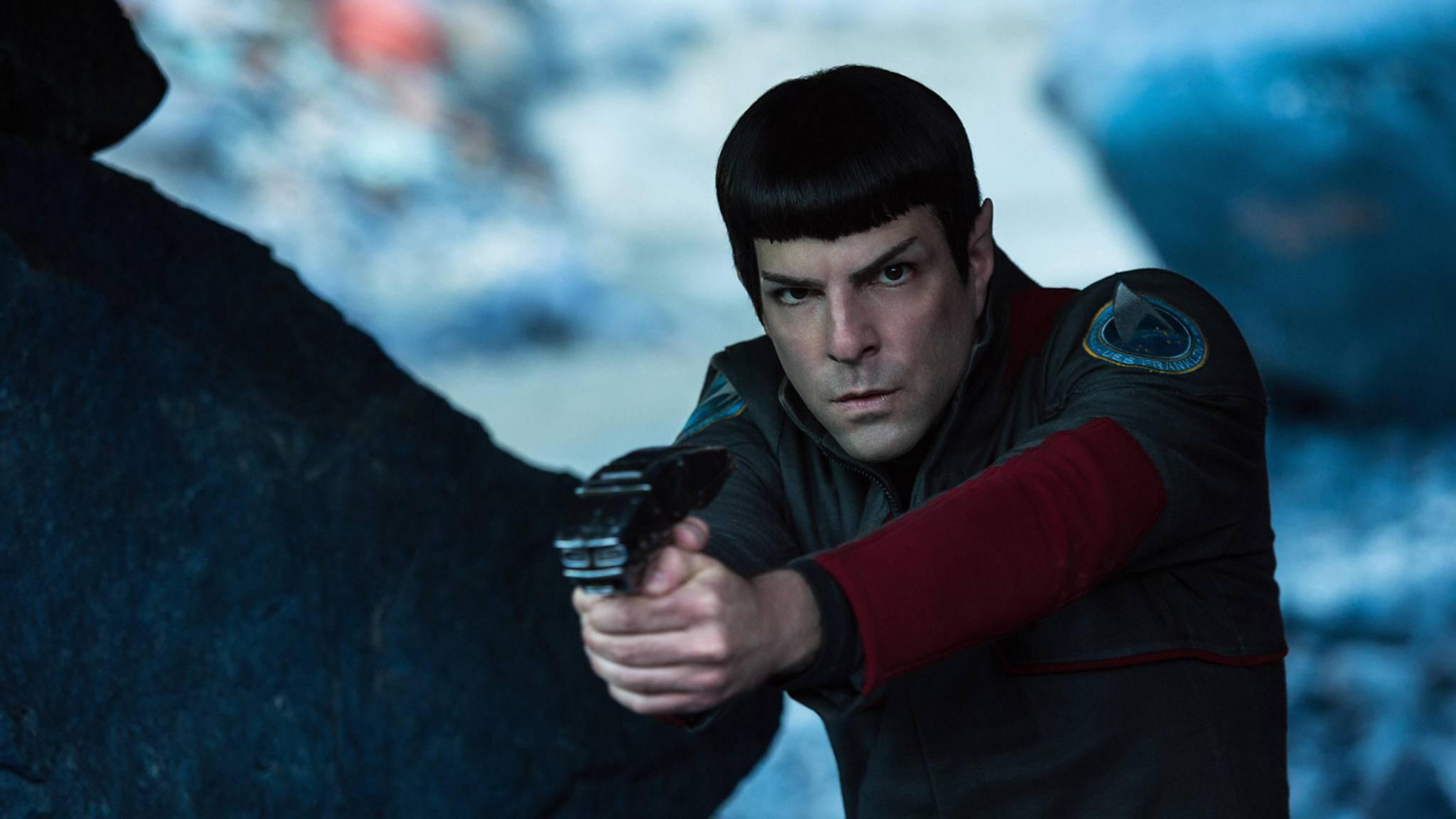 Auch Zachary Quinto verlieh Mr. Spock eine kalte, fast abweisende Art.
