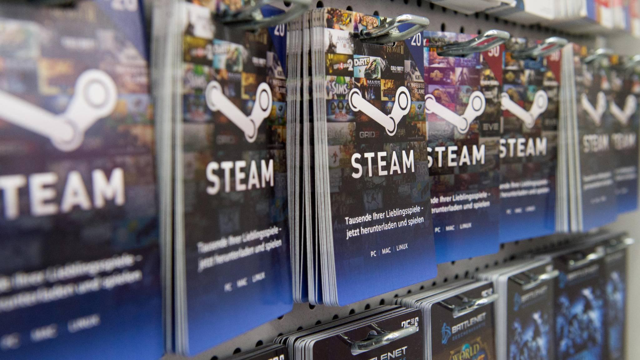 Steam-Spiele können problemlos zurückgegeben werden.