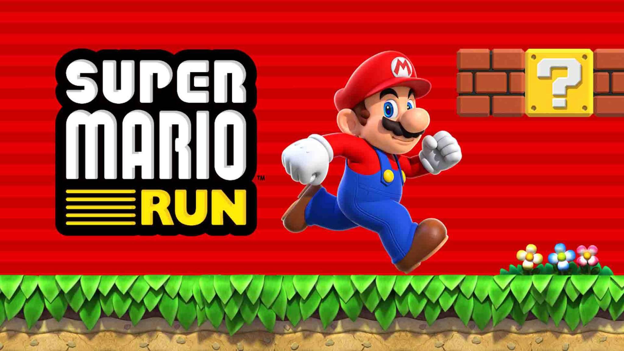 Jetzt hüpft Mario auch auf dem iPhone durch die Gegend.