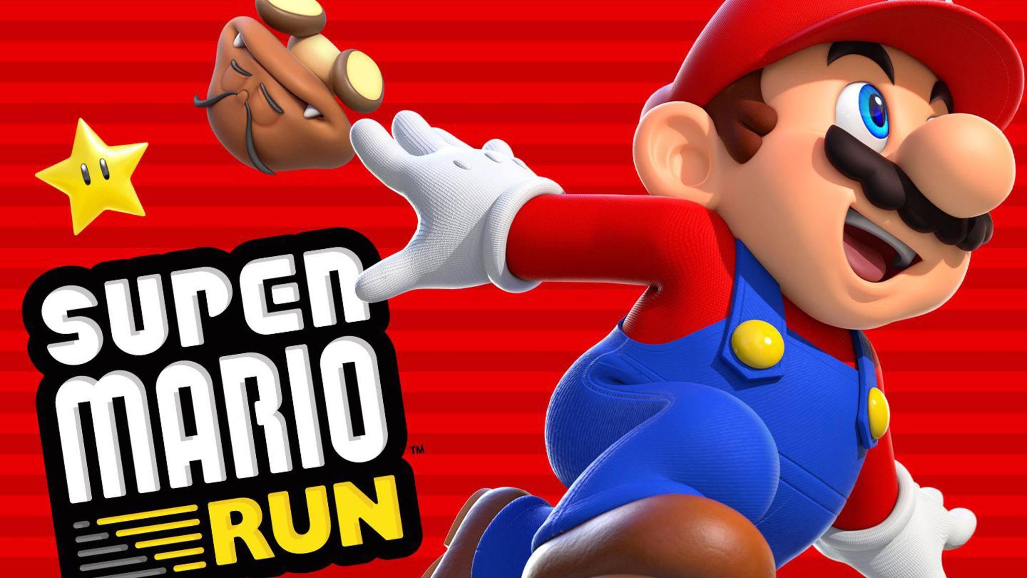 Mario kann sich schon jetzt über einen Riesenerfolg von seinem iPhone-Auftritt freuen.