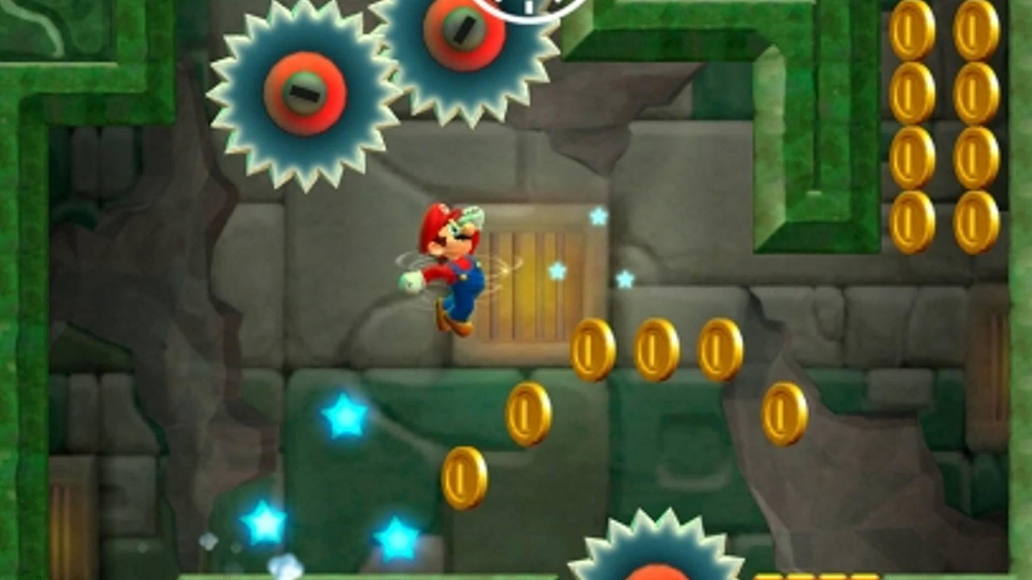 Super Mario Run Sprung