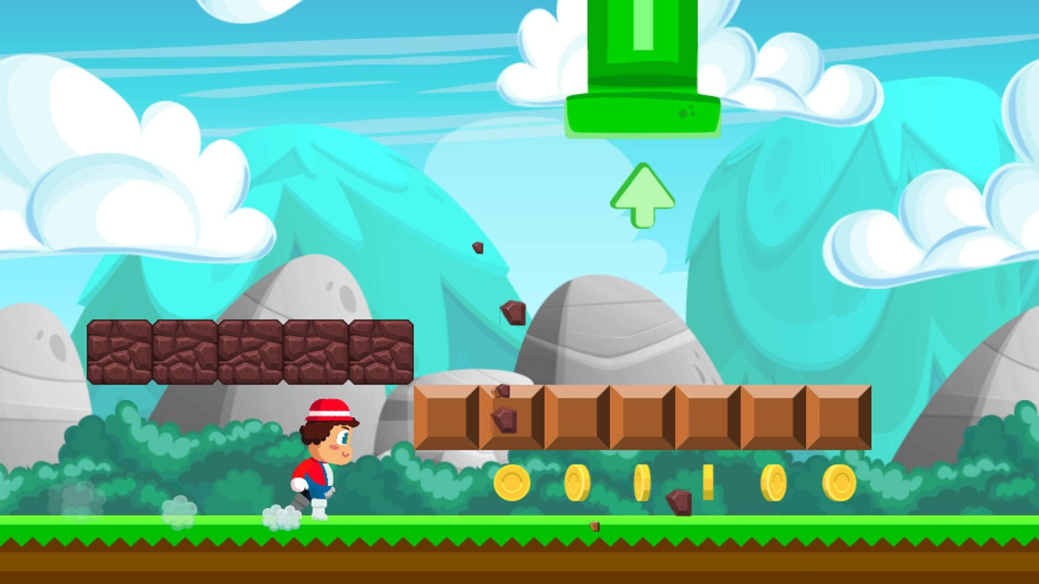 """Super Plumber Run"" gehört zu den Android-Alternativen zu ""Super Mario Run""."