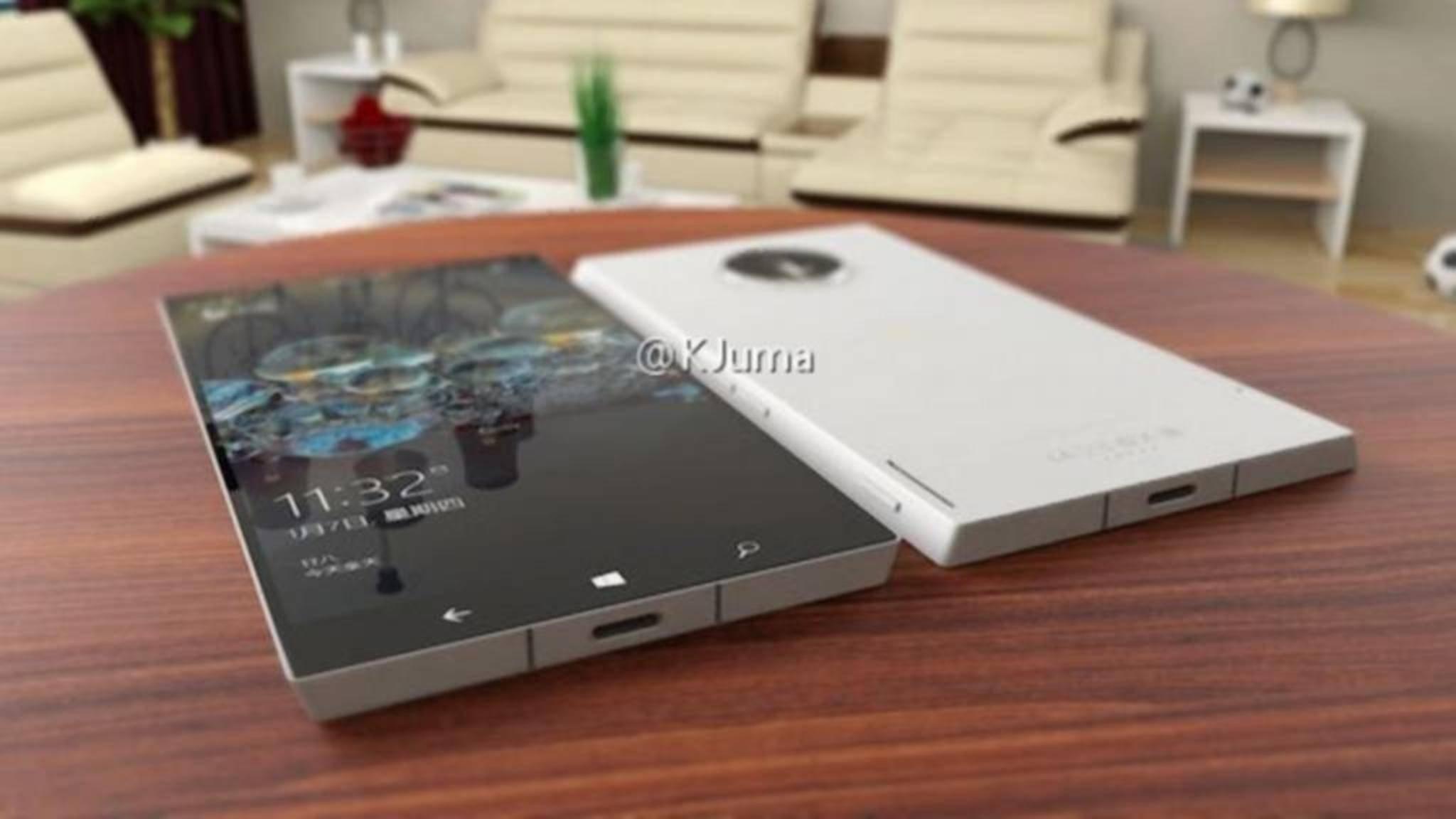 So könnte das Surface Phone aussehen.