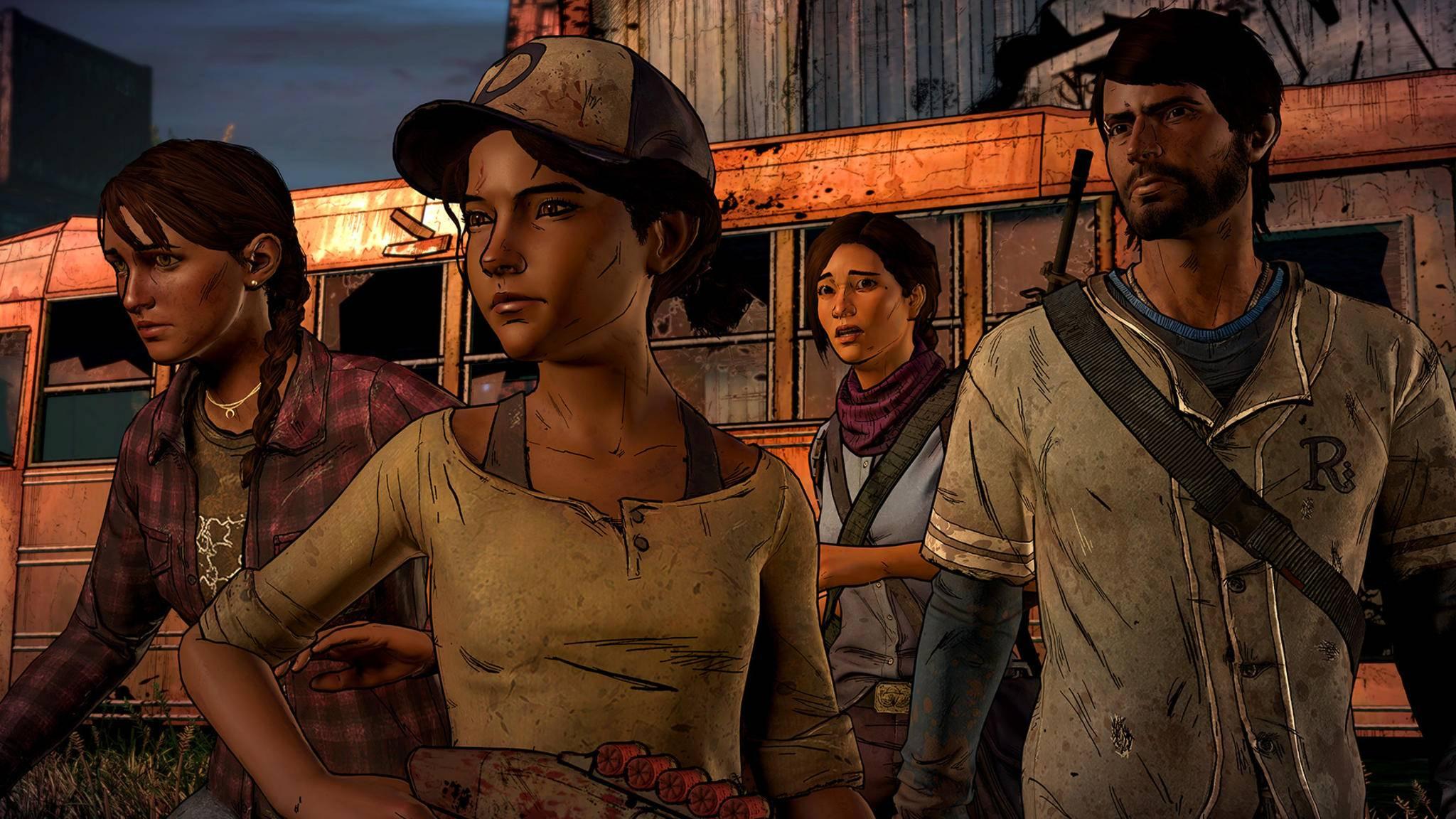 Telltale The Walking Dead Clementine Javi