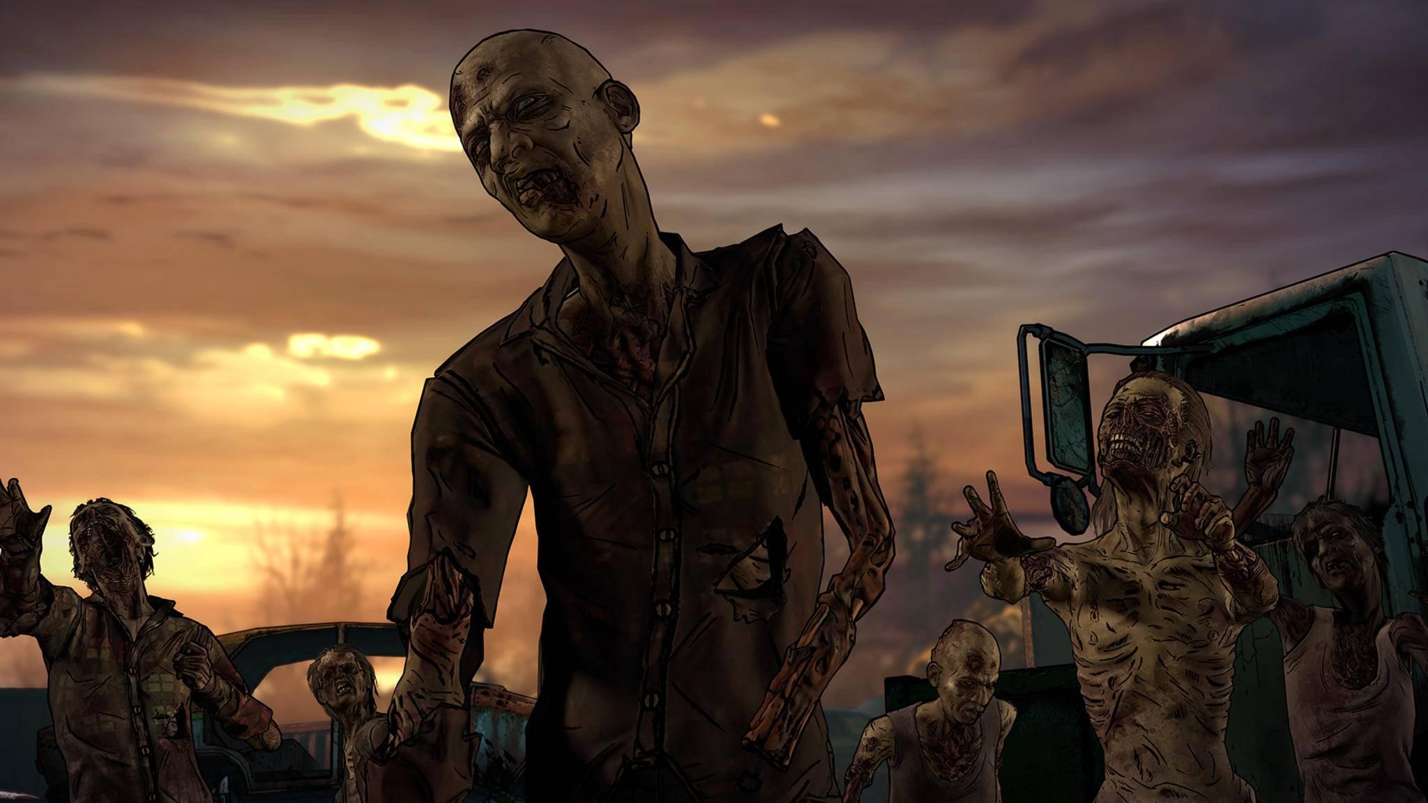 """Selbstverständlich kommt auch Telltales """"The Walking Dead"""" nicht ohne Zombies aus."""