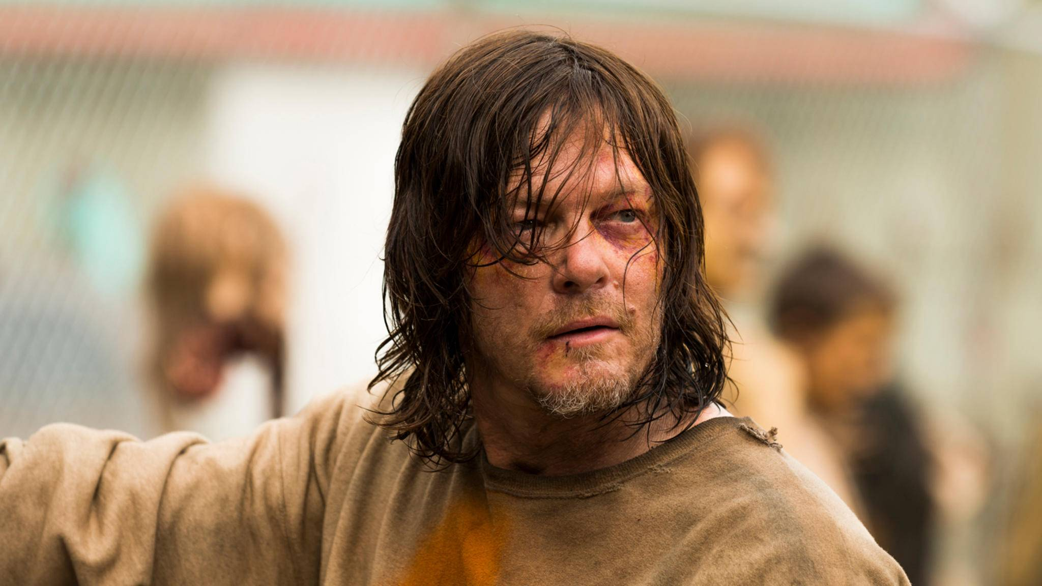 Sowohl am Set als auch in der Serie: Daryl (Norman Reedus) hatte es nicht immer leicht.