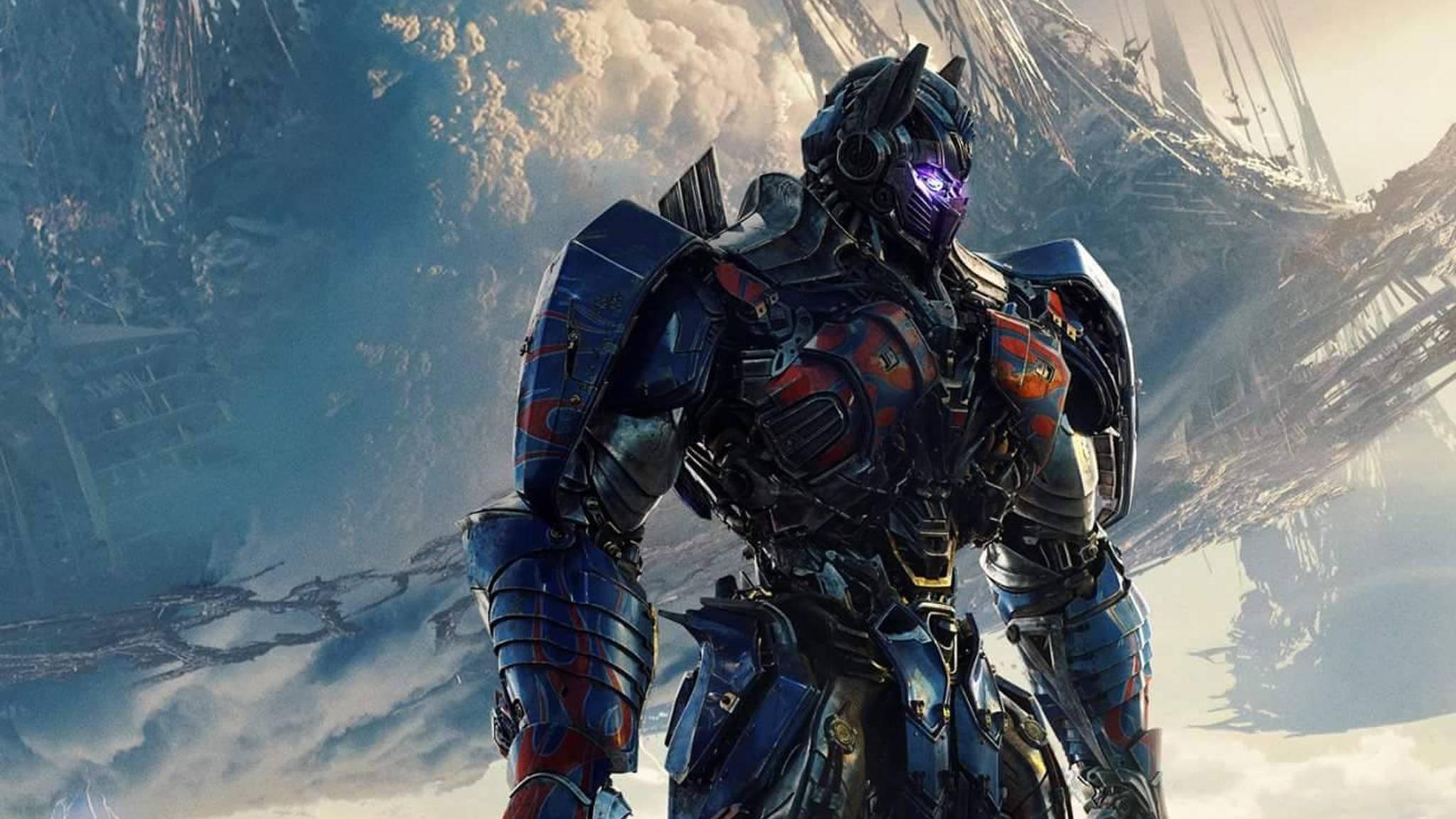 "Optimus Prime ist in ""Transformers 5: The Last Knight"" offenbar in dunkler Mission unterwegs."