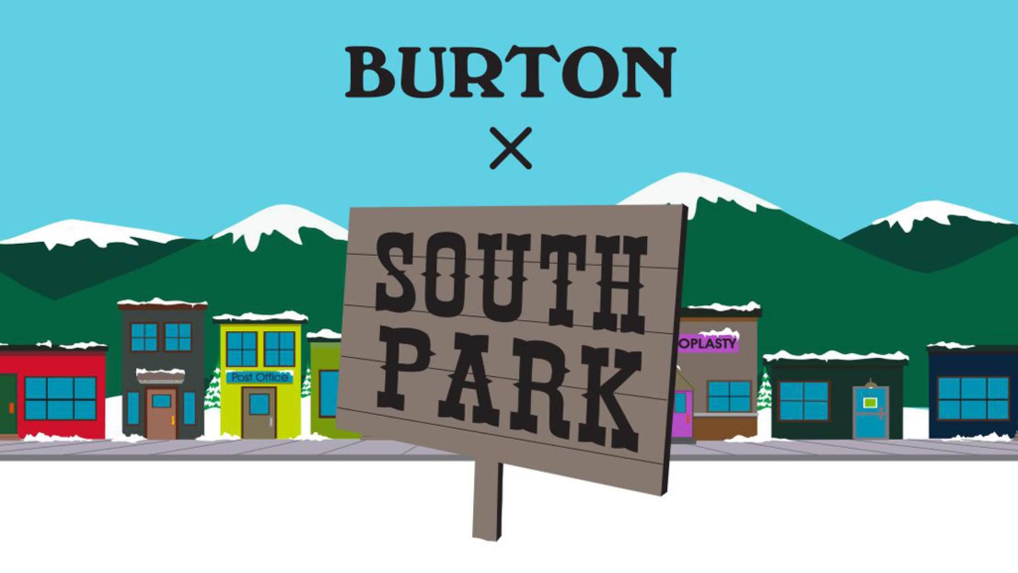 Snowboard Burton South Park