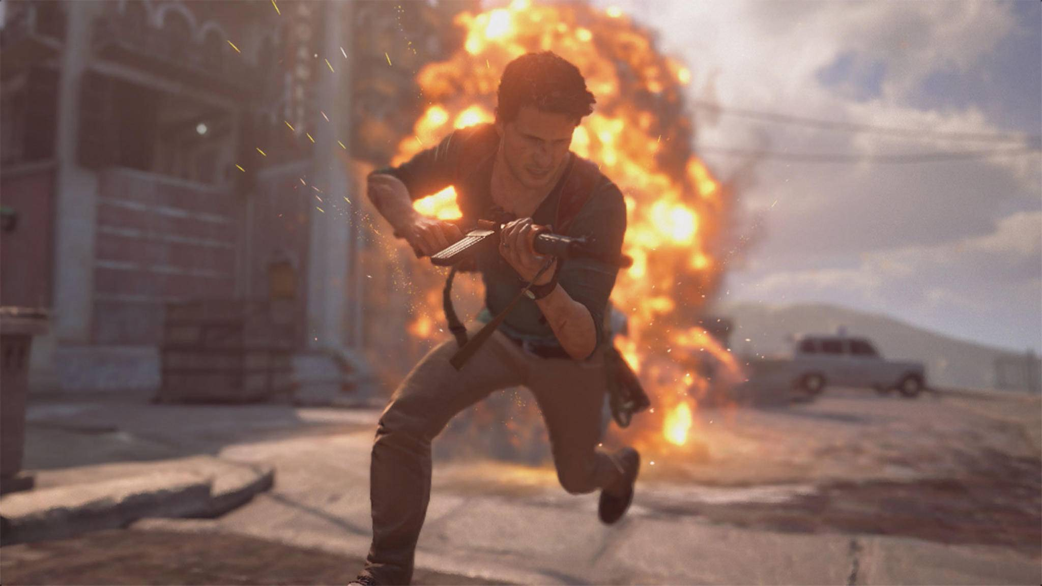 """Der PS4-Kracher 2016 schlechthin: """"Uncharted 4""""."""