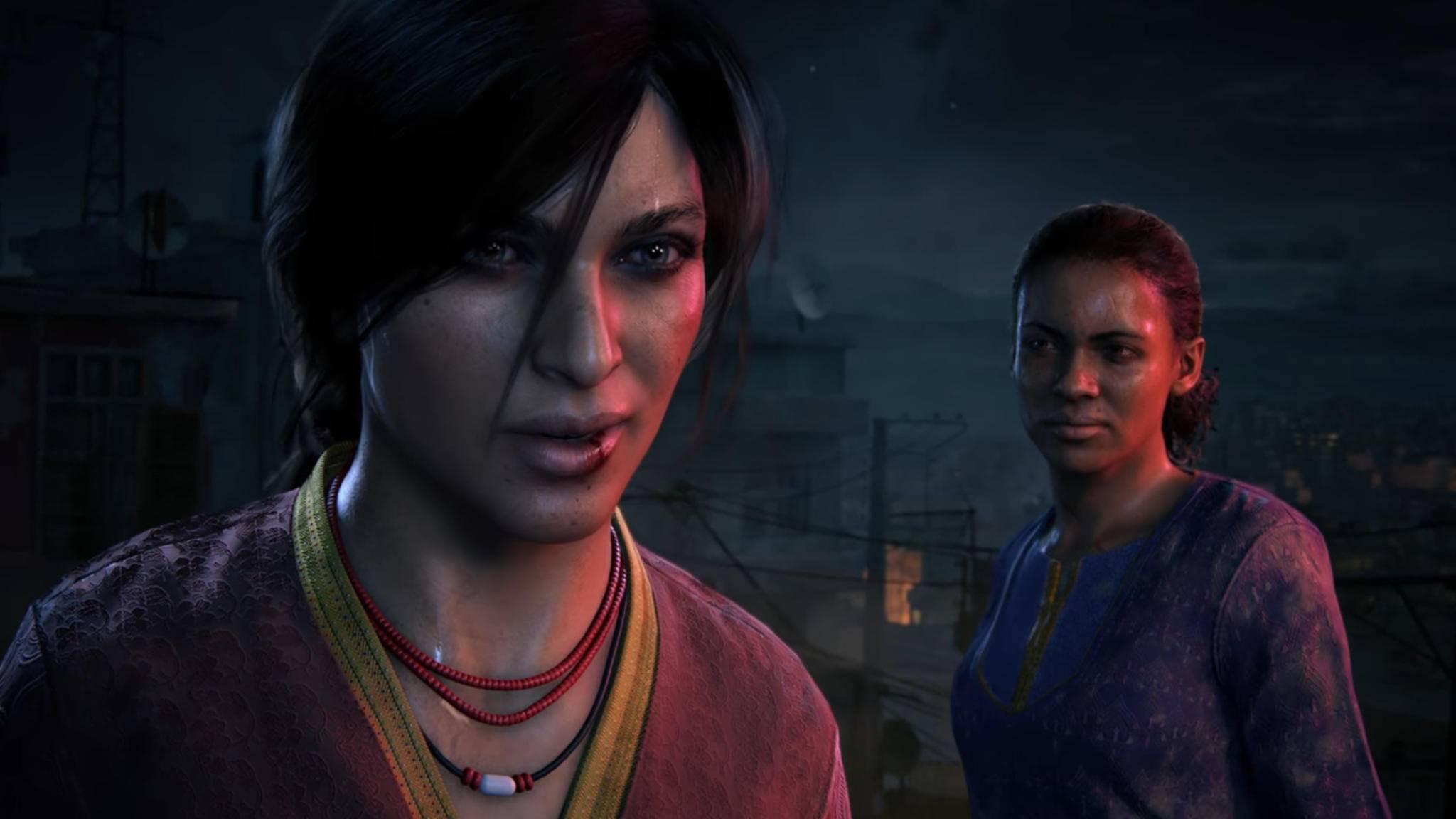 """Die beiden Heldinnen in """"Lost Legacy"""": Chloe Frazer und Nadine Ross."""