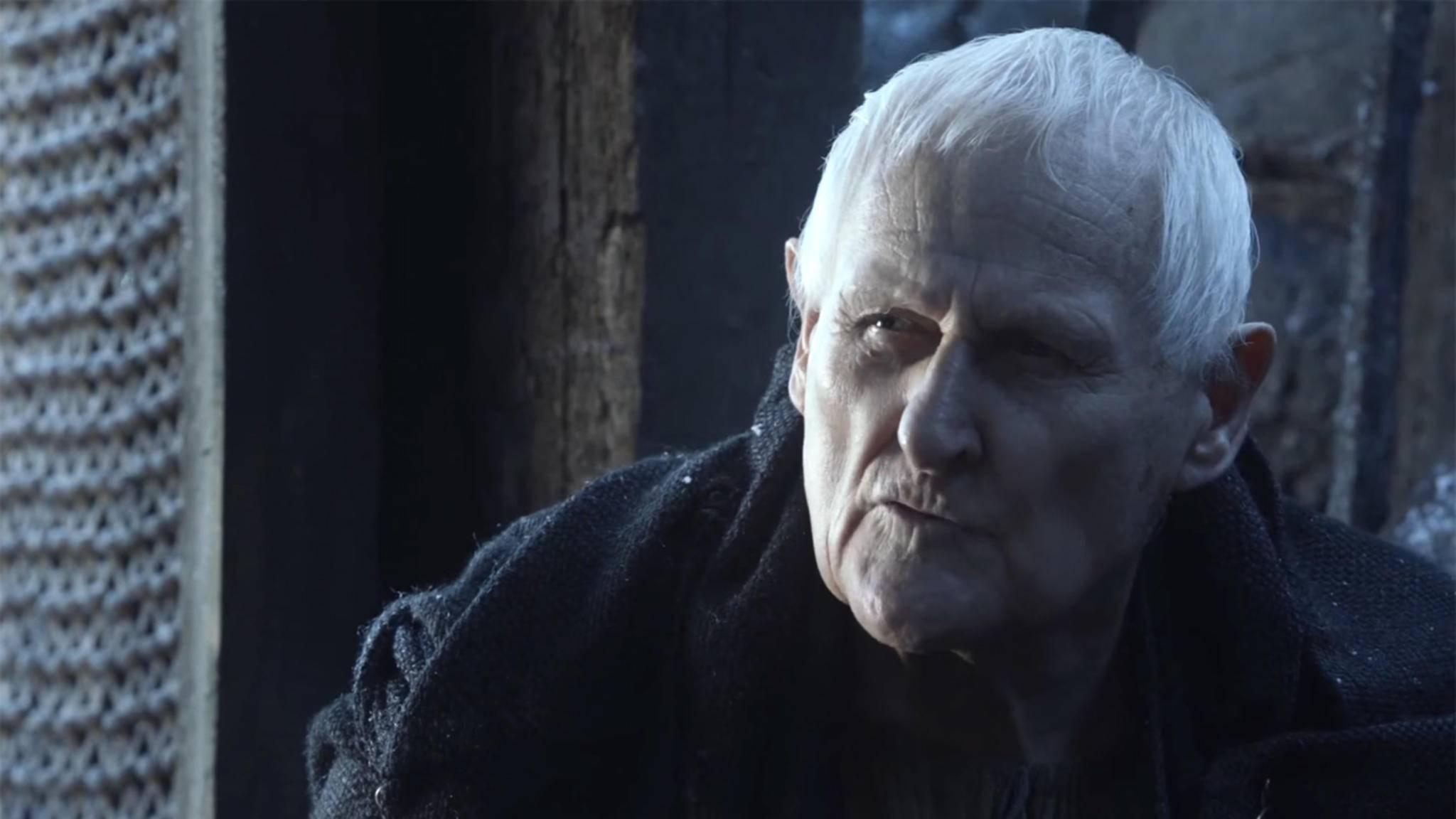 """Peter Vaughan spielte in """"Game of Thrones"""" die Rolle von Jon Snows Berater Maester Aemon."""