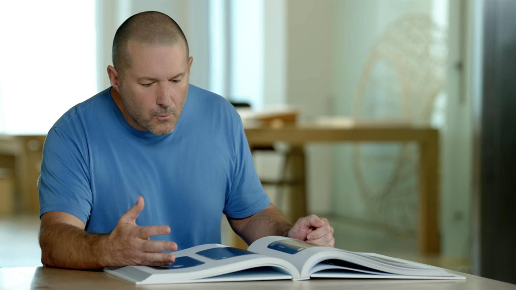 Apple-Designer Jony Ive ist äußerst angetan vom neuen Apple-Buch.