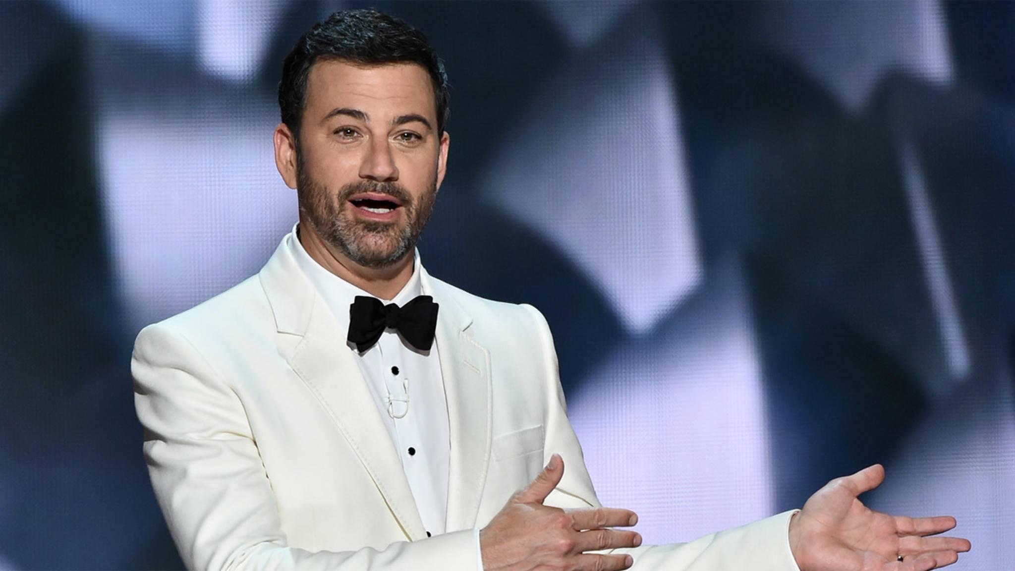 Bekommt Jimmy Kimmel bei den Oscars 2017 zu wenig Gehalt? Darüber kann man wohl streiten...