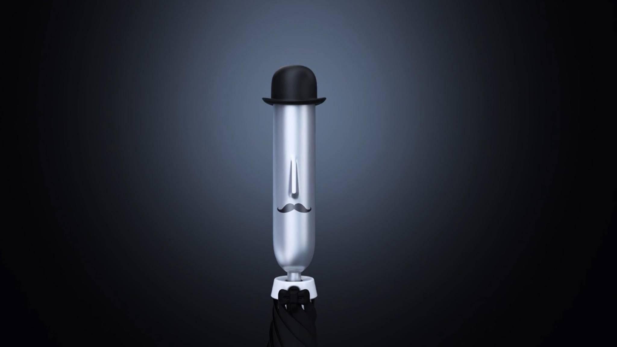 Gestatten: Opus One, ein smarter Regenschirm, der mitdenkt.