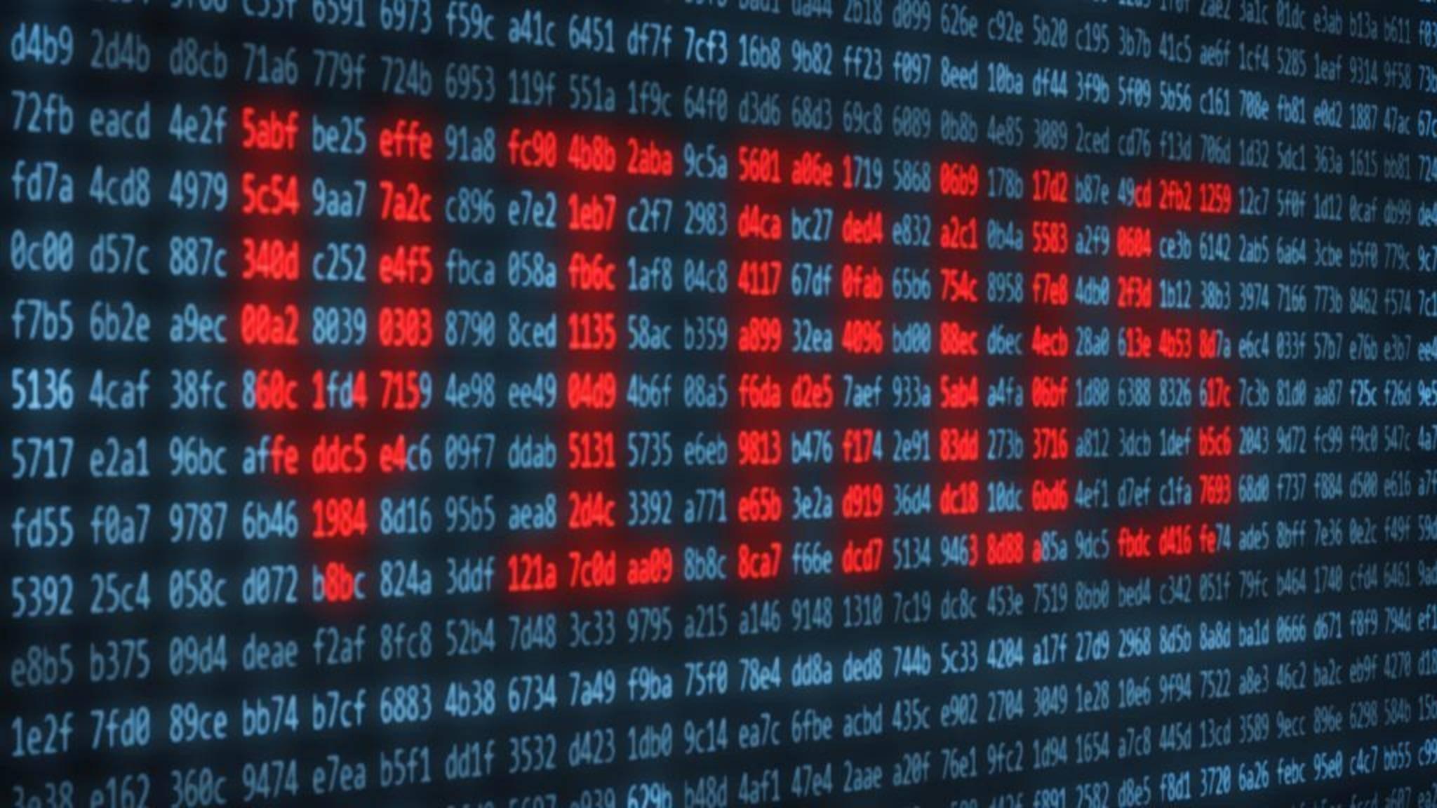 Eine weltweite Cyberattacke hatte am Freitag zehntausende Rechner befallen.