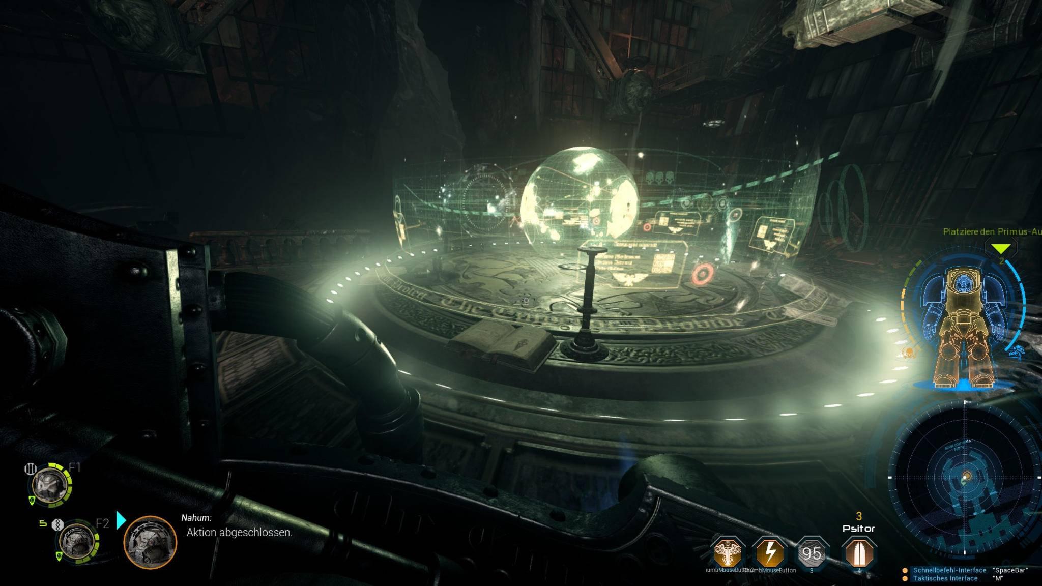 """""""Space Hulk: Deathwing"""" glänzt mit toller Atmosphäre."""