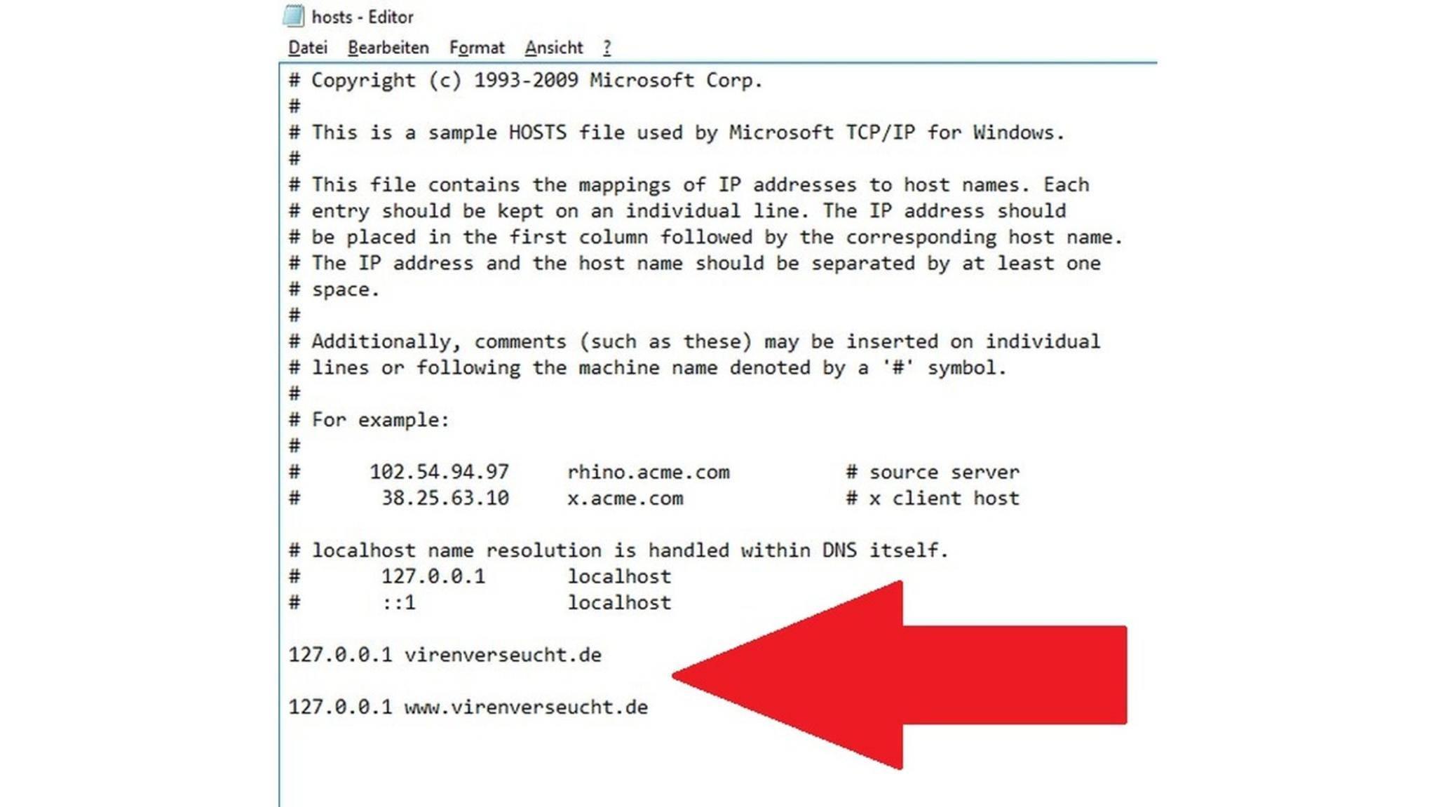 Websites kannst Du unter Windows 10 knallhart sperren.