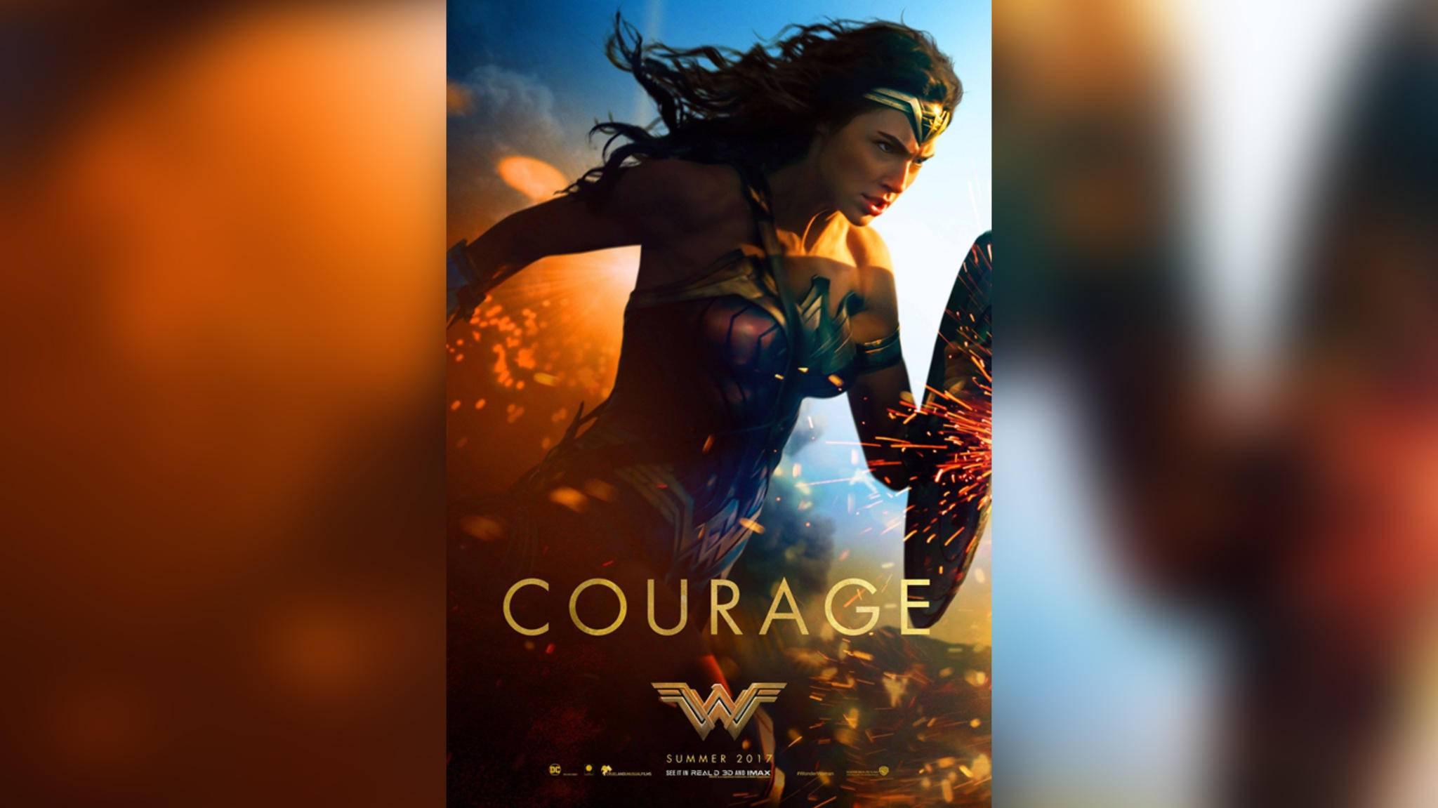 """""""Wonder Woman"""" ist bereit, am 2. Juni 2017 auf der großen Leinwand in den Kampf zu ziehen."""