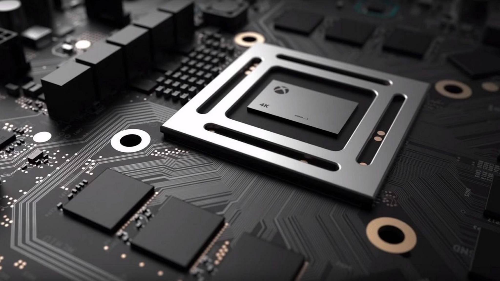 Mit 6 Teraflops soll die Xbox Scorpio jede Menge Grafikpower bieten. Passt sie trotzdem in ein Mini-Gehäuse.
