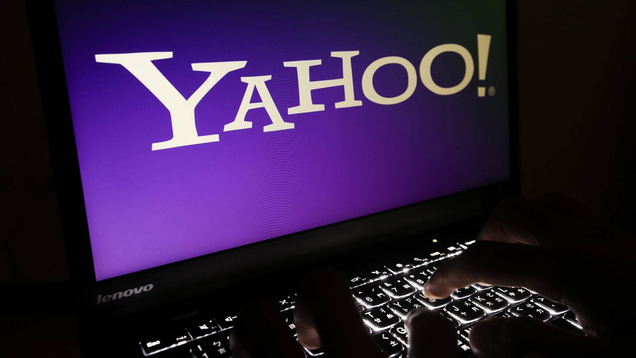 Erneuter Datendiebstahl bei Yahoo: Mehr als eine Milliarde Konten sind betroffen.