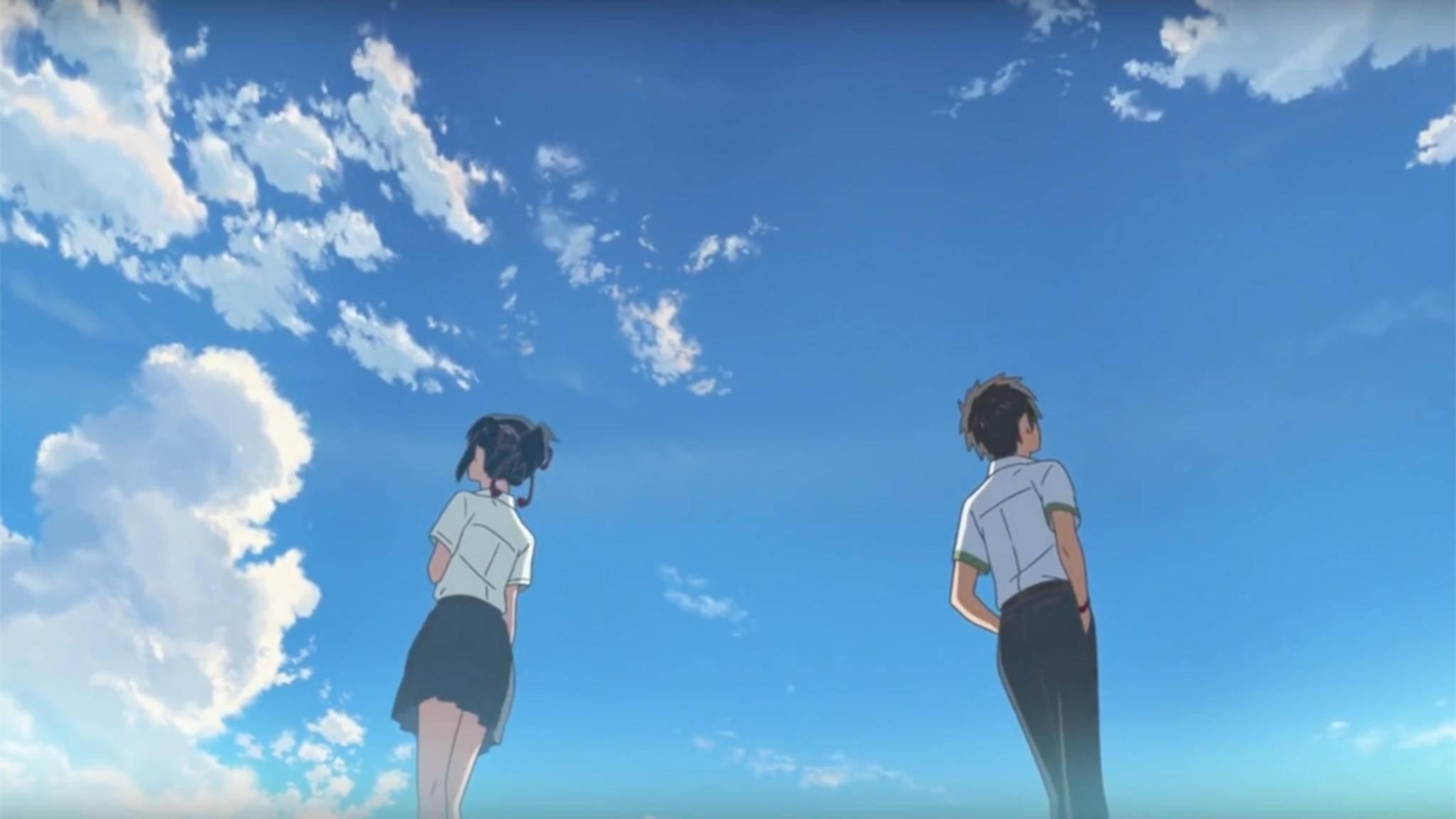 """In """"Your Name"""" tauschen zwei japanische Teenager die Körper."""