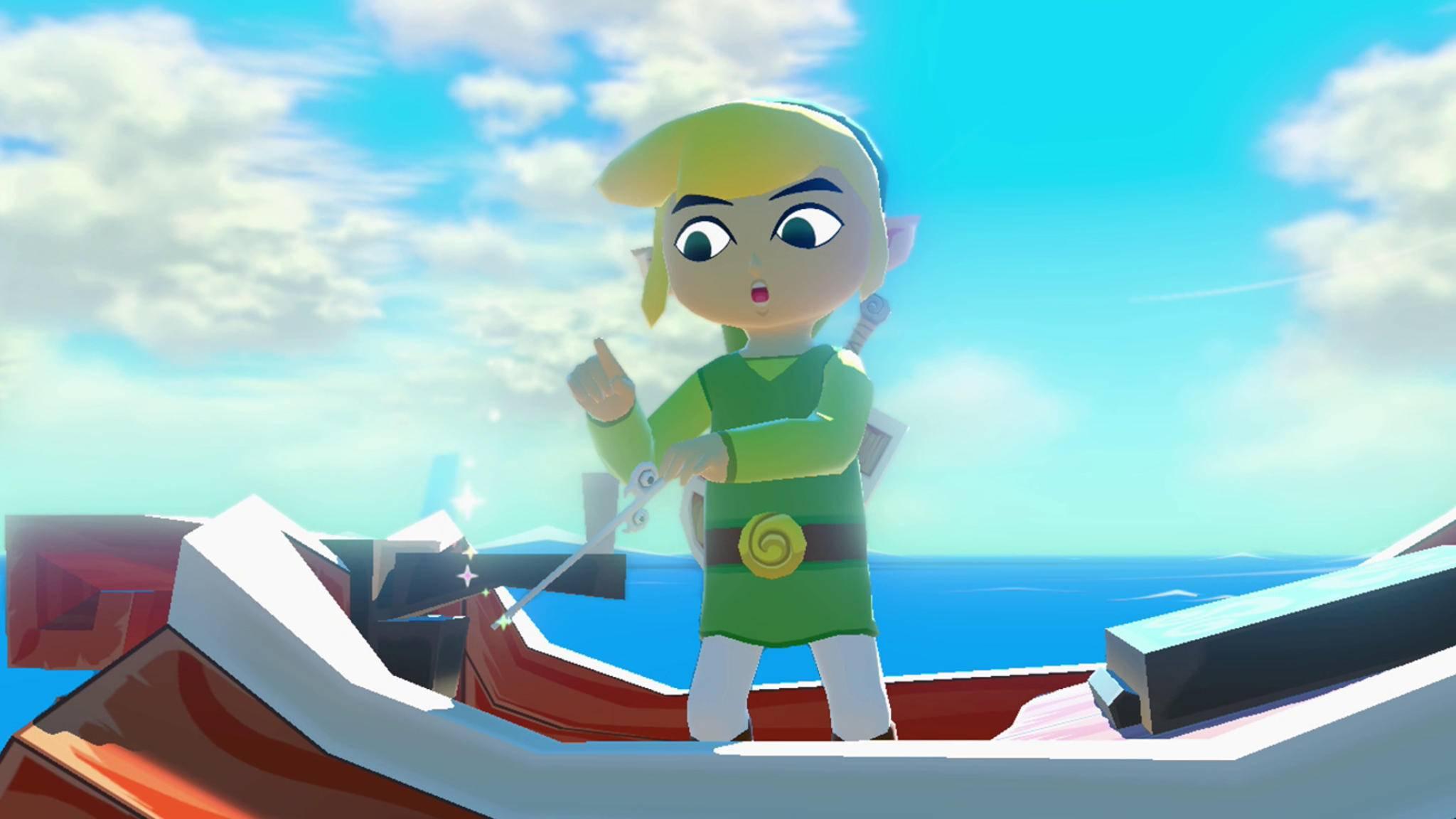 """Nintendo stellte die Arbeiten an """"Wind Waker 2"""" ein."""