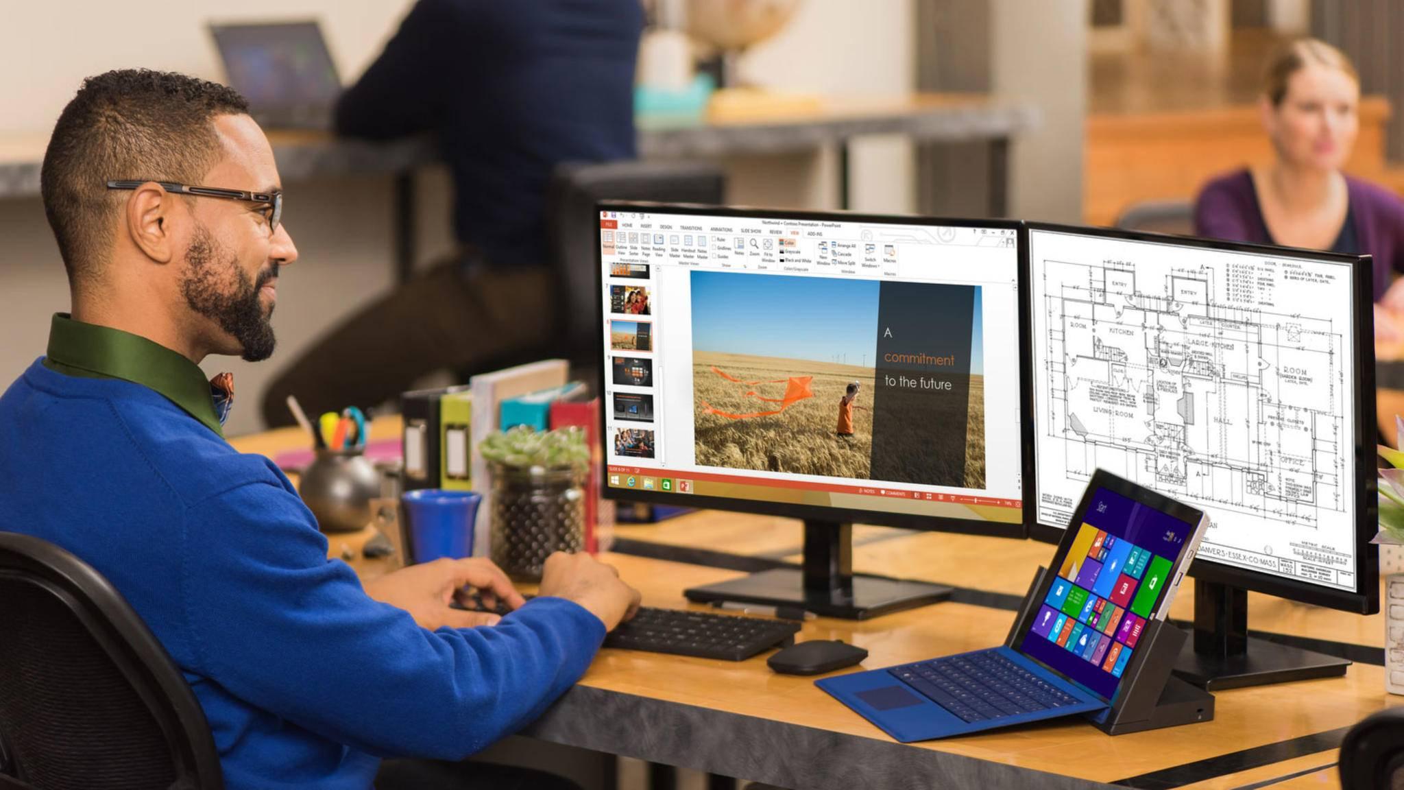 Microsoft plant zwei große Windows 10-Updates in diesem Jahr.