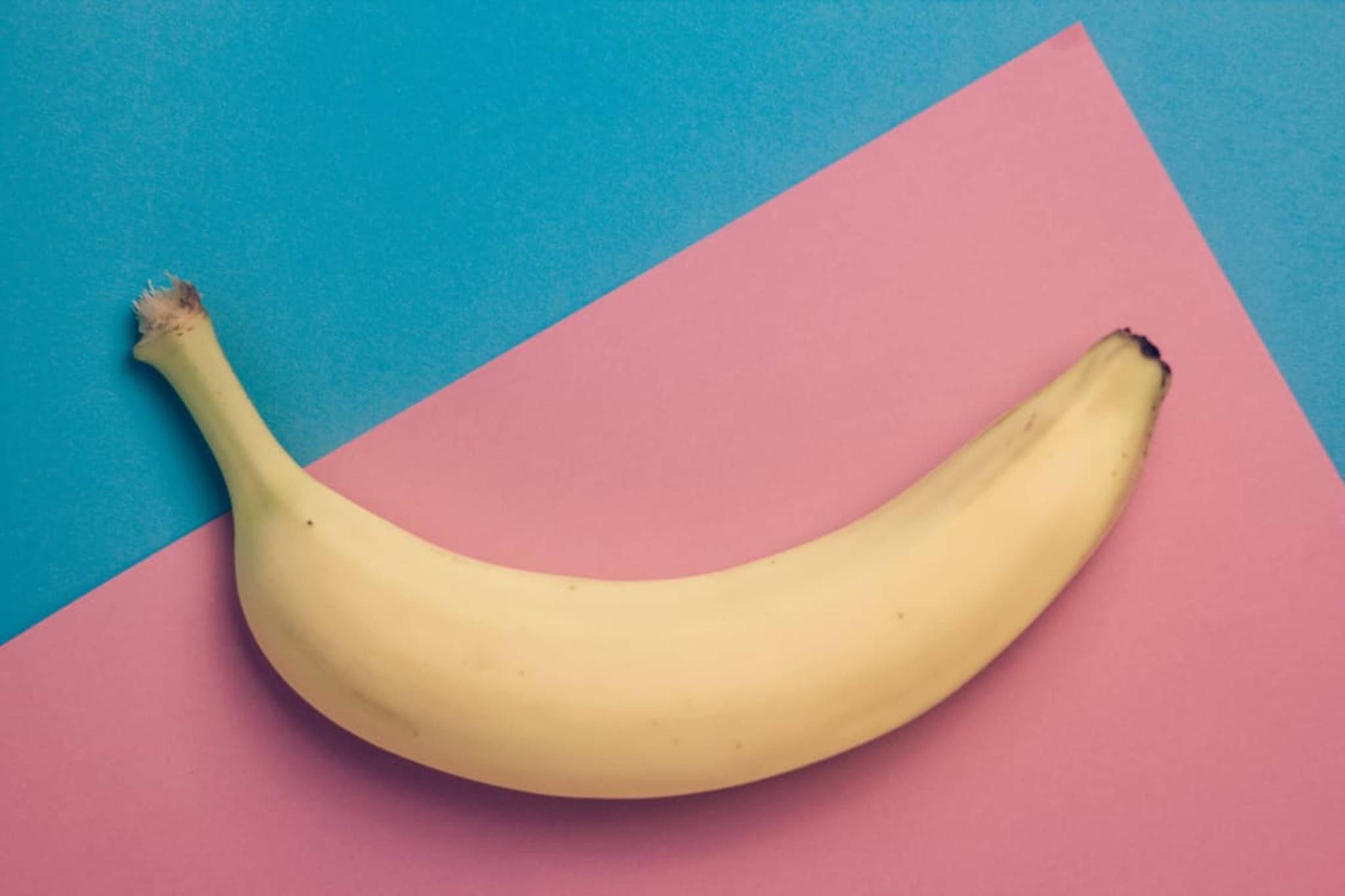 Nicht nur das Innere der Banane ist gesund!
