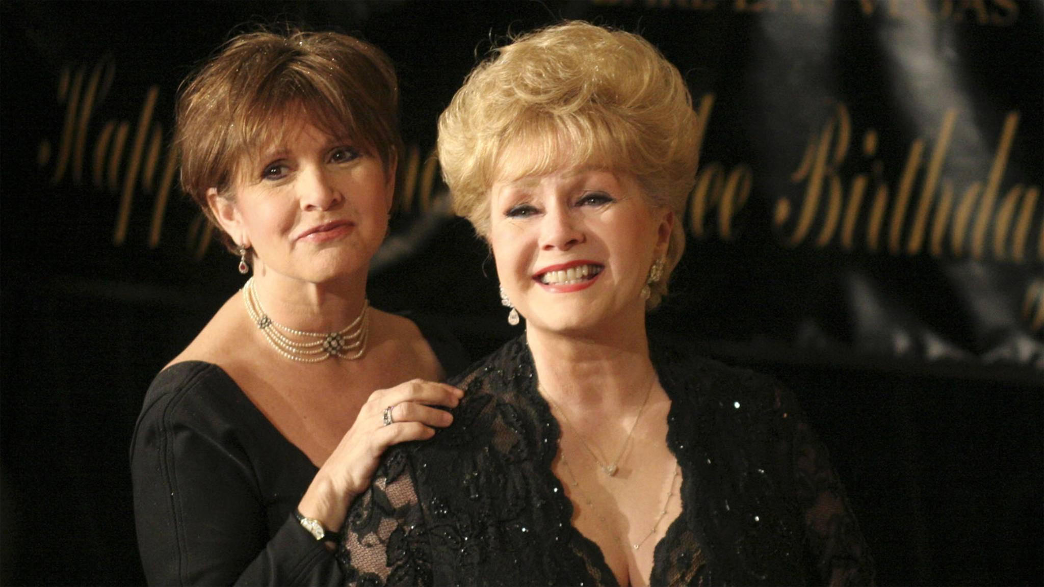 Ein tragischer Verlust: Nur einen Tag nach dem Tod von Carrie Fisher stirbt ihre Mutter Debbie Reynolds.