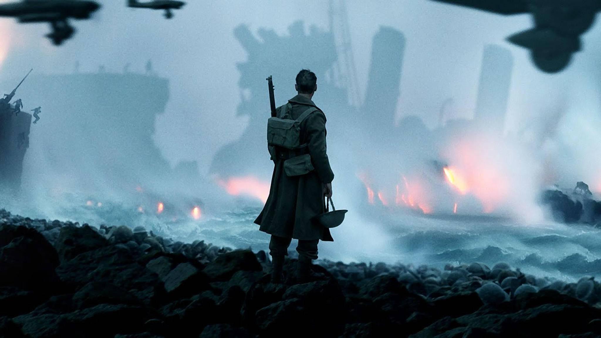 """Christopher Nolan liefert mit """"Dunkirk"""" klassisches Oscar-Material ab. Ob es 2018 für eine Auszeichnung reicht?"""
