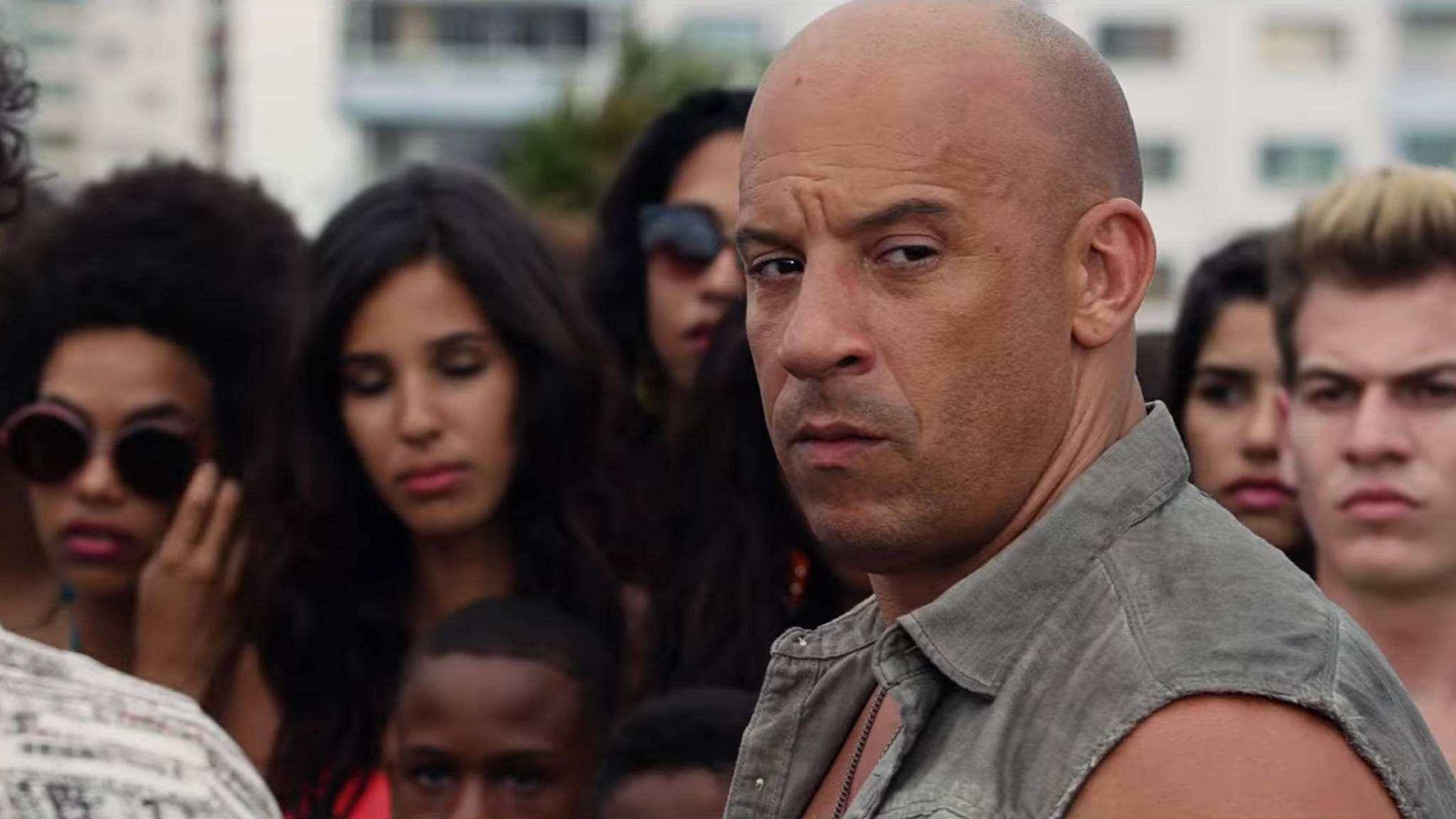 """Dominic Toretto (Vin Diesel) hat in """"Fast and Furious 8"""" offenbar keine guten Absichten – oder?"""