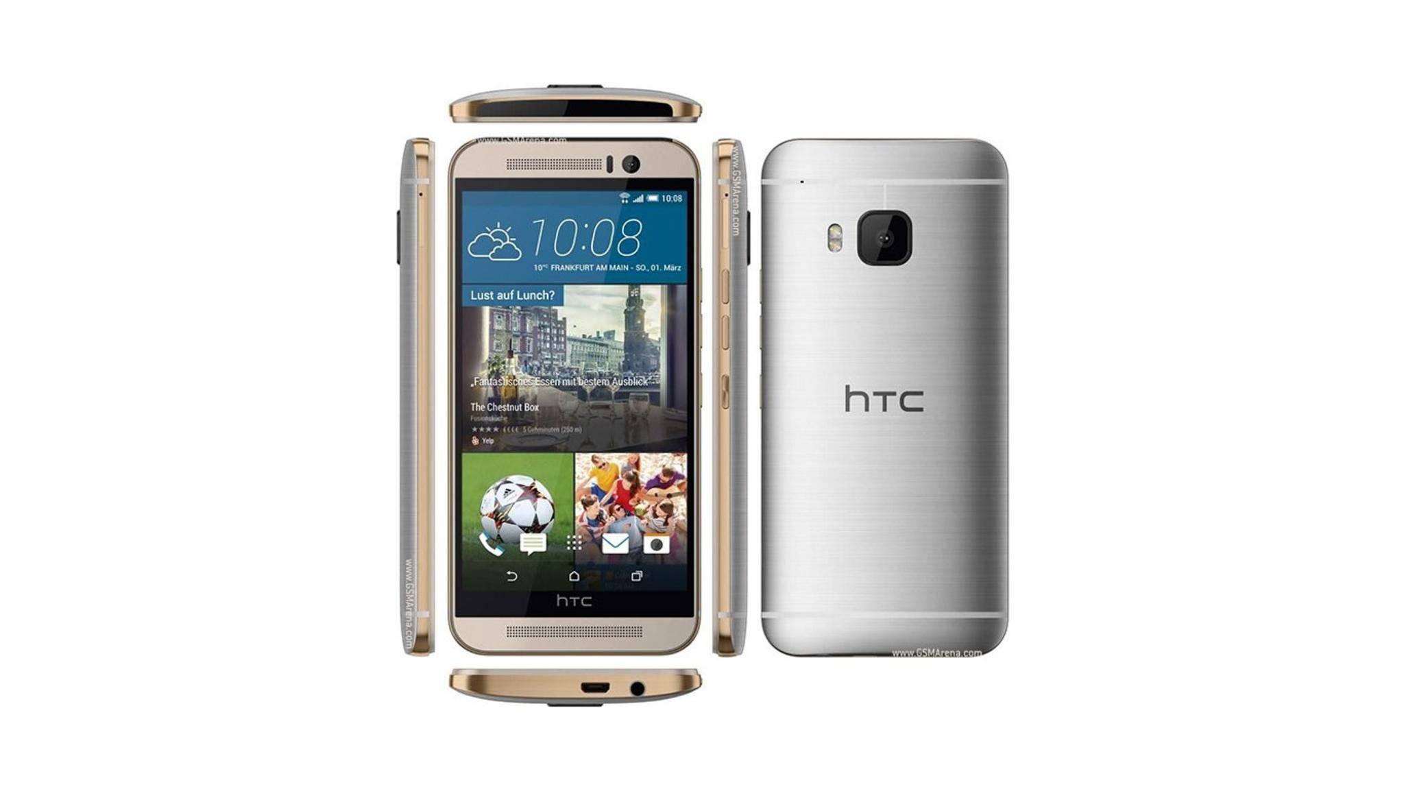 Auch das ältere HTC One M9 erhält ein Update auf Android 7.0 Nougat.