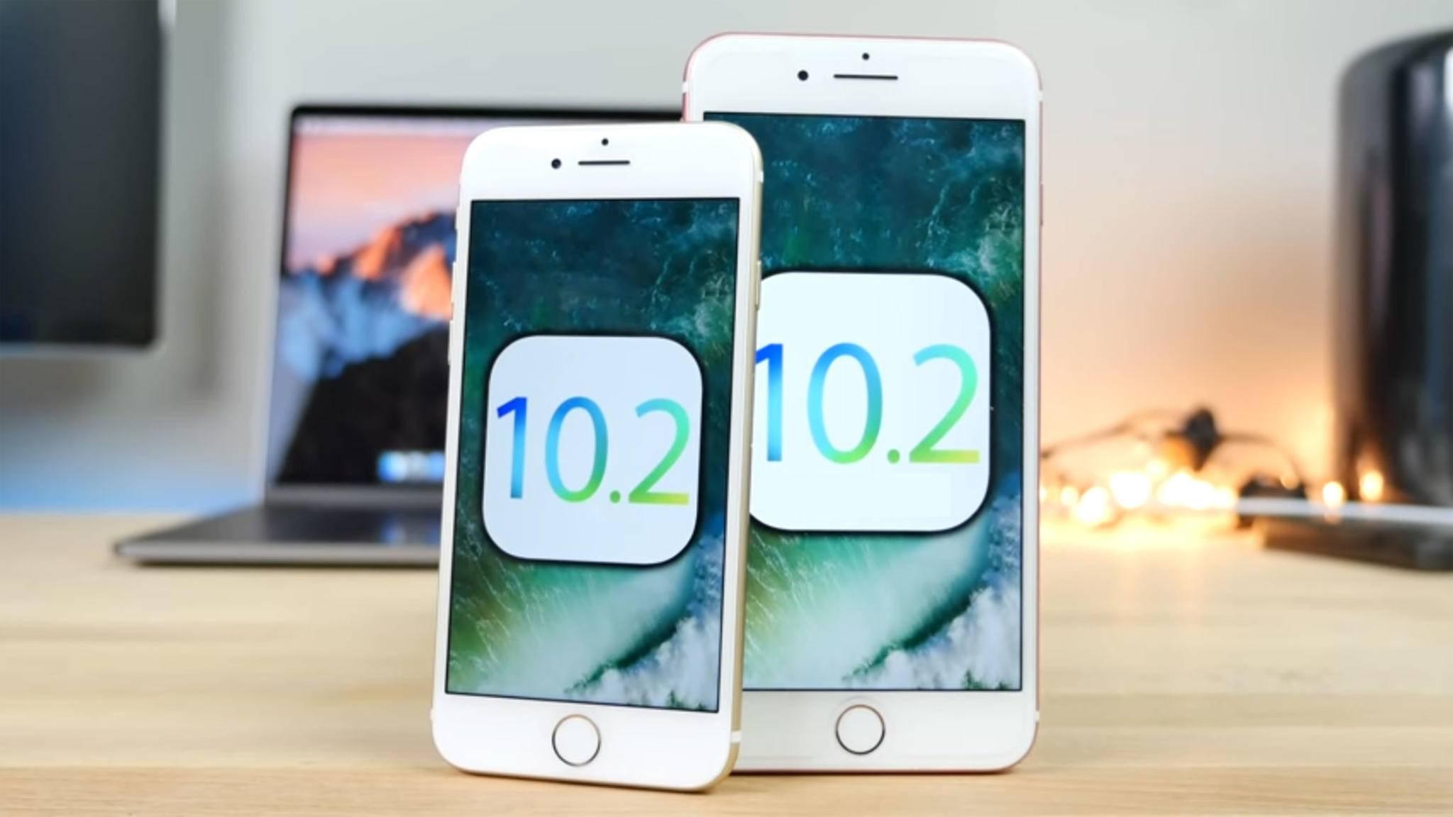 Beta 6 und 7 von iOS 10.2 wurden veröffentlicht, der Release erfolgt nächste Woche.