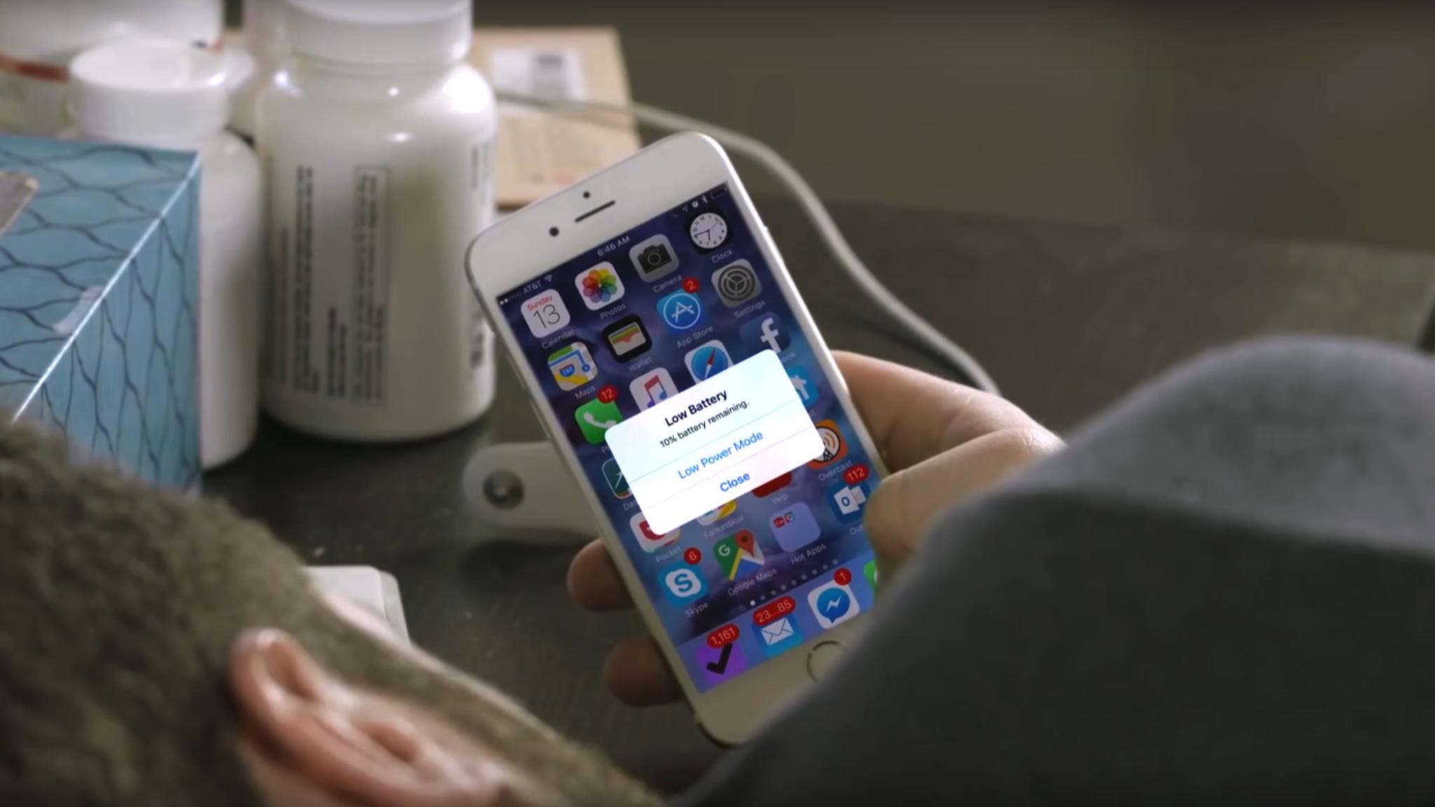 Einige Modelle des Apple iPhone 6s leiden unter einem defekten Akku.